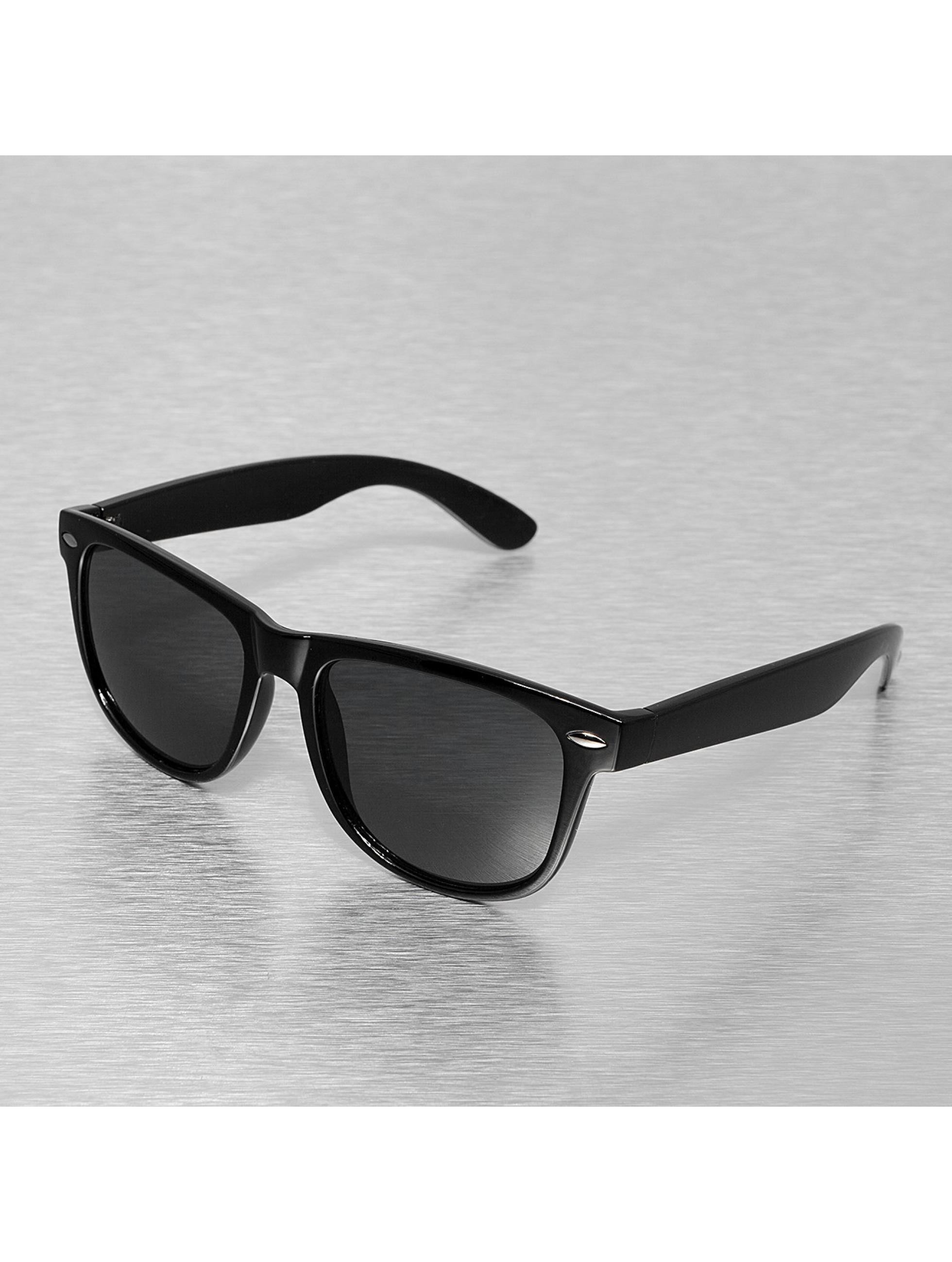 Sonnenbrille Vision in schwarz