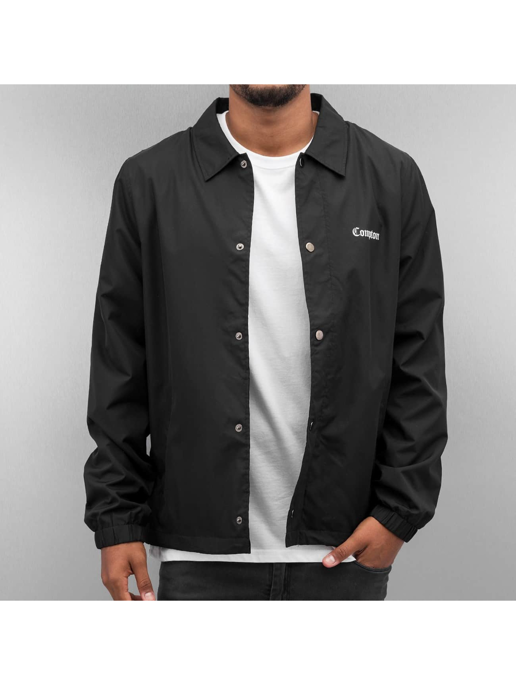 Mister Tee Демисезонная куртка Compton Coach черный
