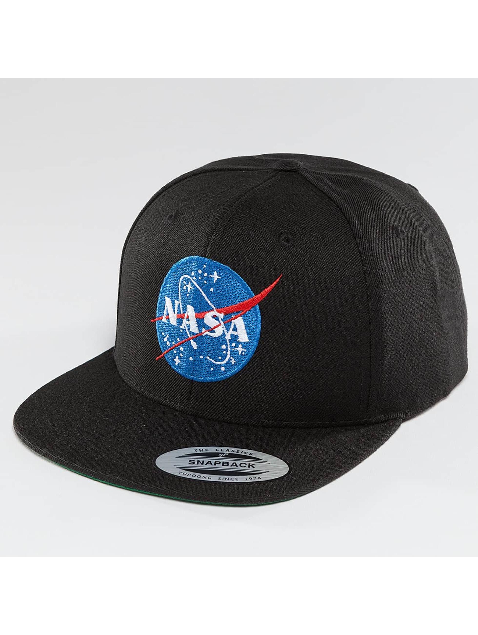 Mister Tee Кепка с застёжкой NASA черный