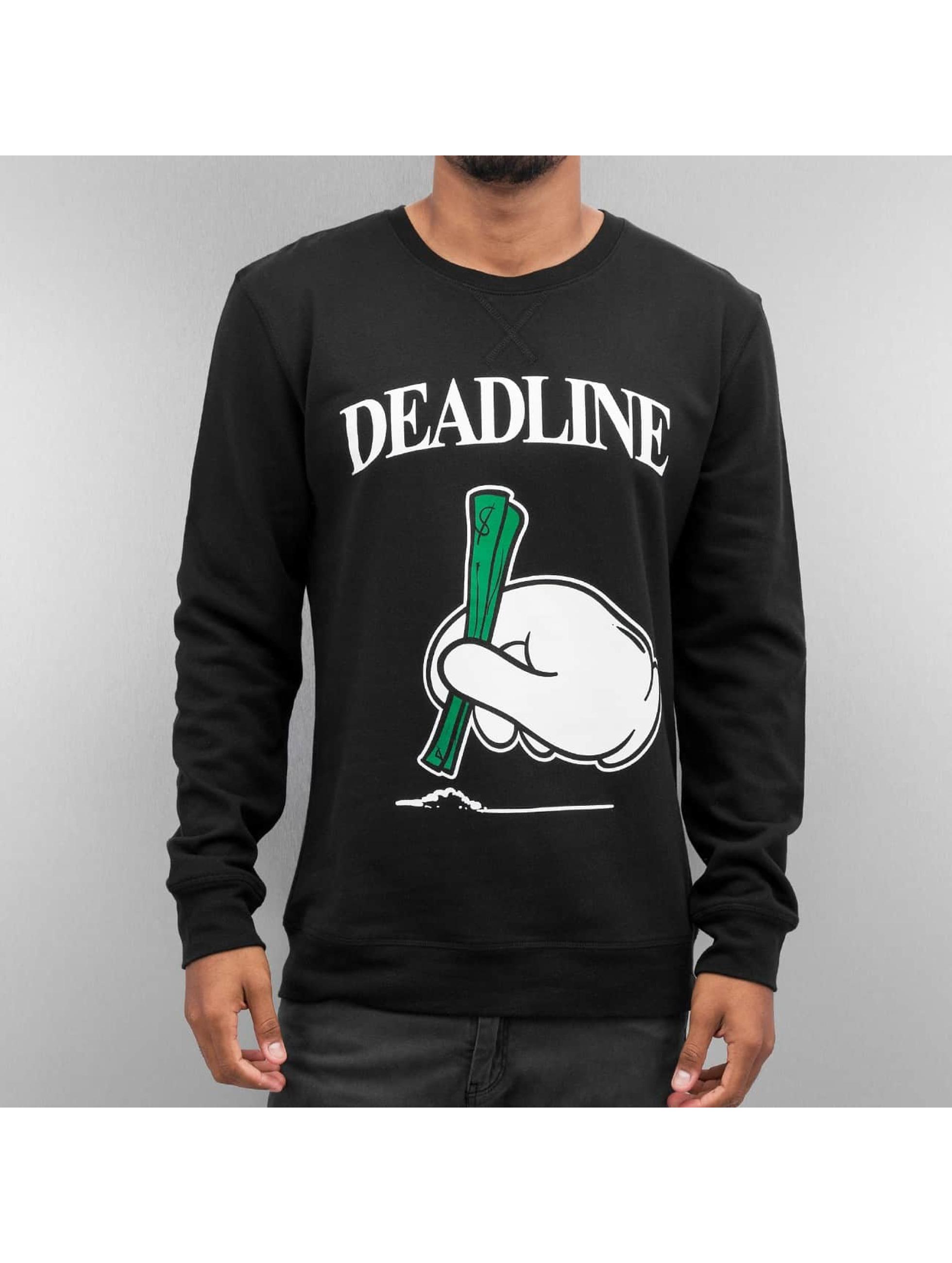 Mister Tee Пуловер Deadline черный