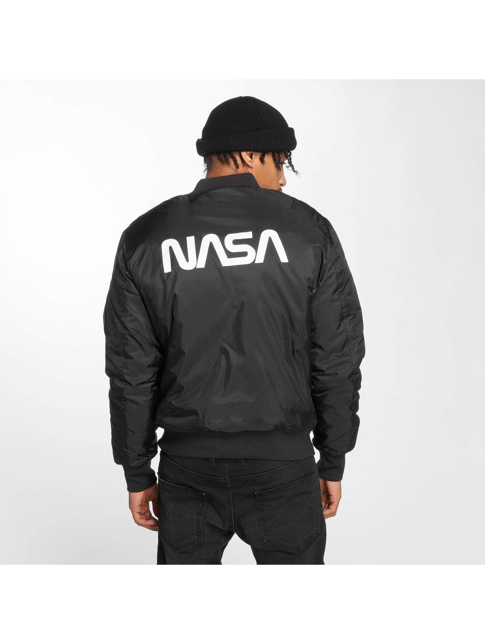 Mister Tee Bomber NASA Worm noir