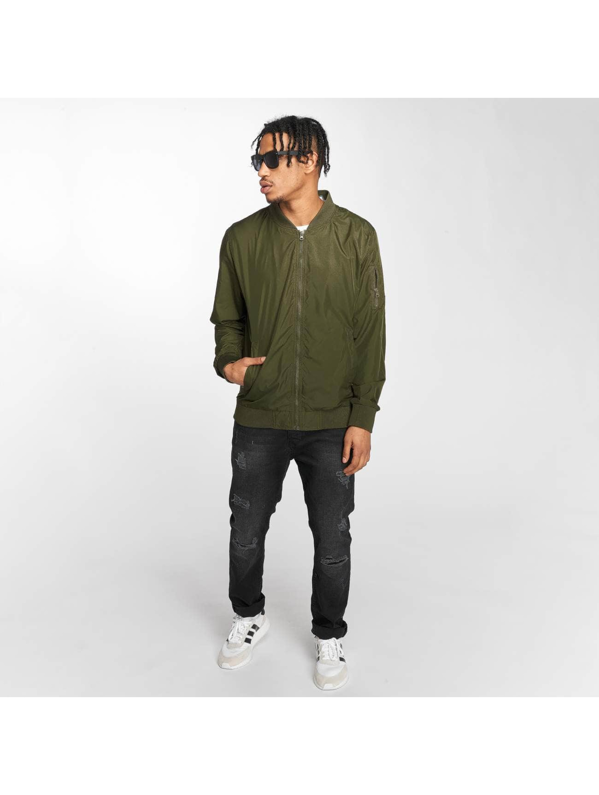 Mister Tee Bomber Tiger Light olive