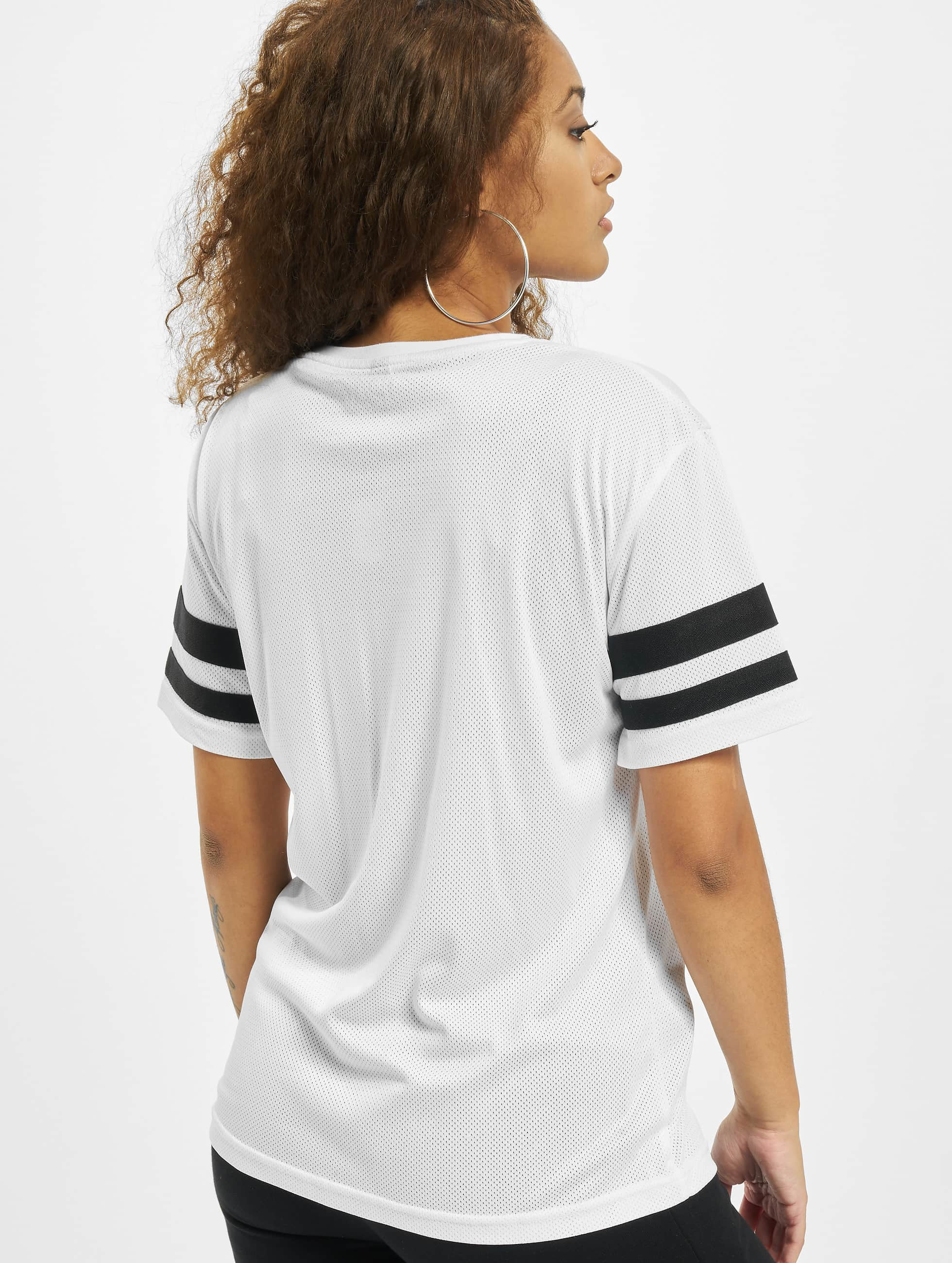Mister Tee Camiseta 2Pac Stripes blanco