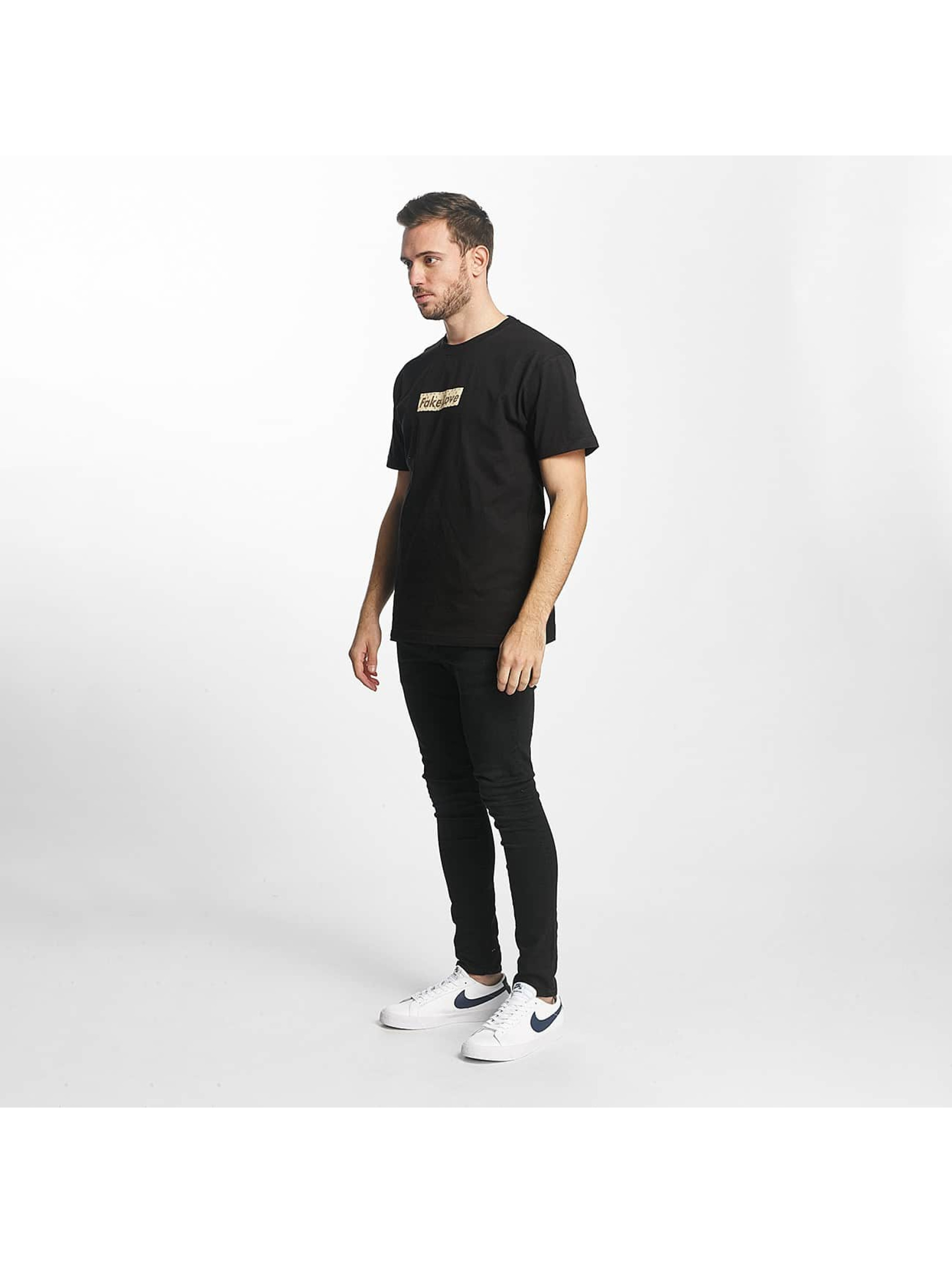 Mister Tee Camiseta Fake Love negro