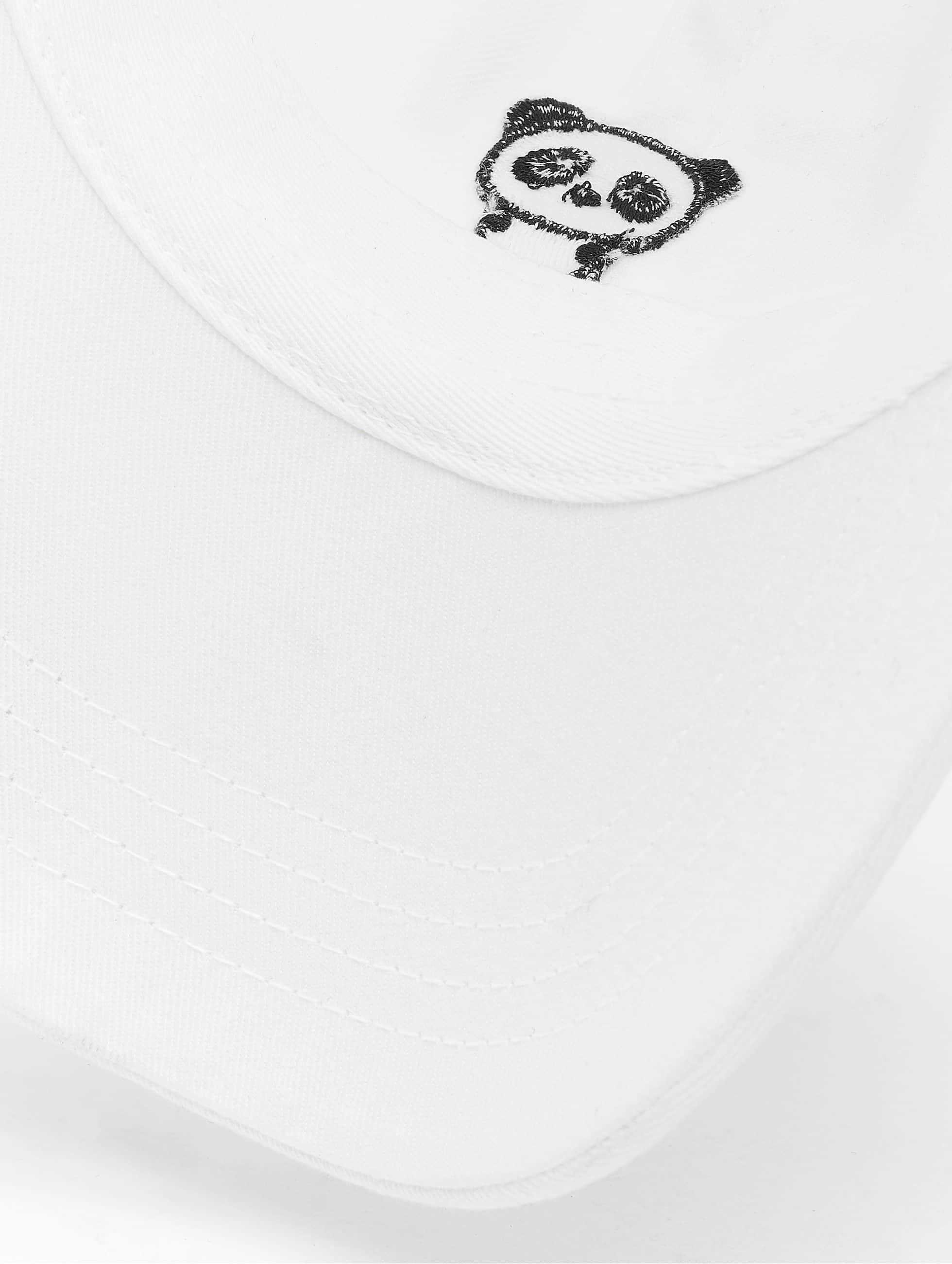 Mister Tee Casquette Snapback & Strapback Panda Dap blanc