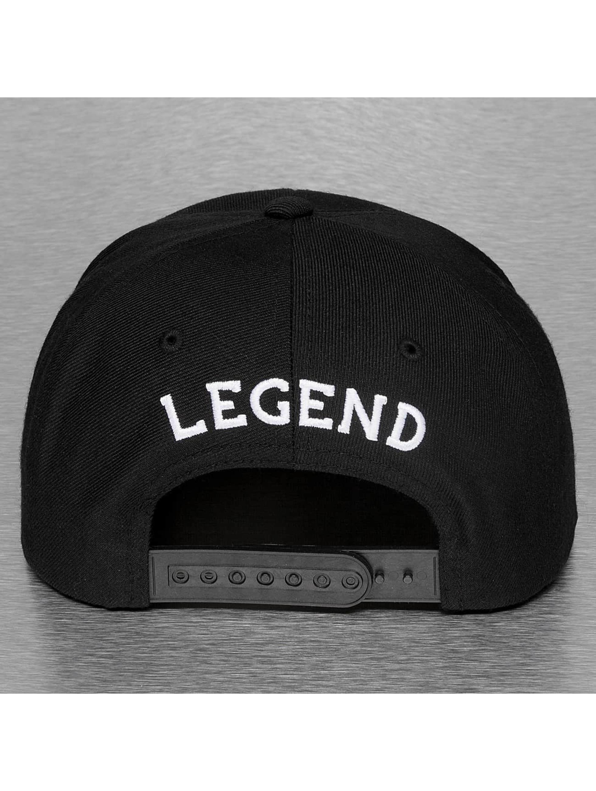 Mister Tee Casquette Snapback & Strapback Legend 23 noir