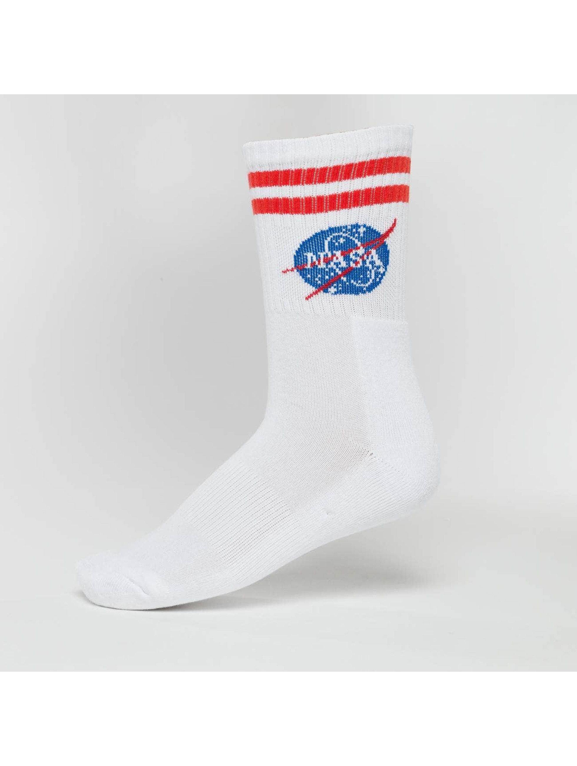 Mister Tee Chaussettes NASA blanc