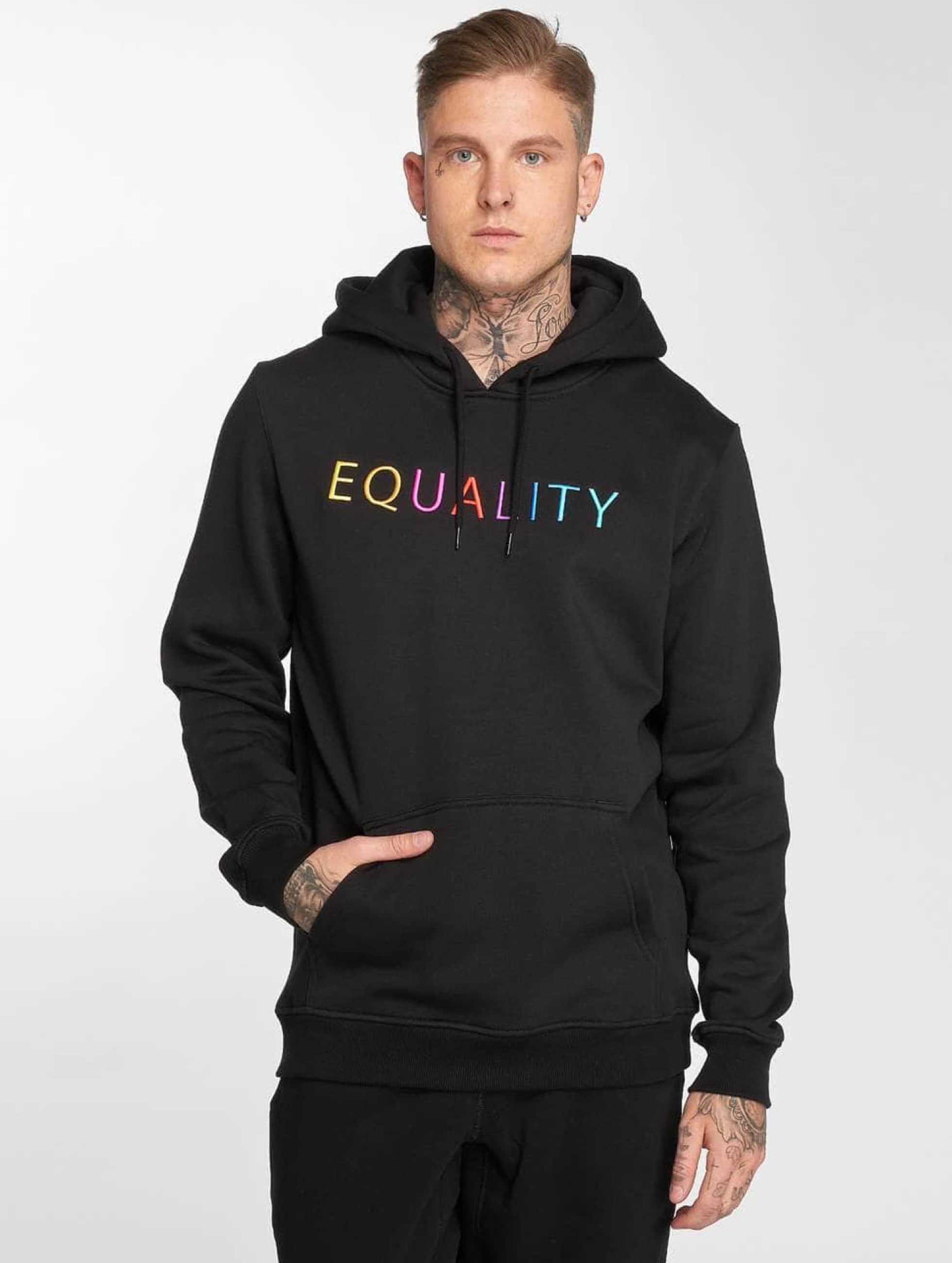 Mister Tee Felpa con cappuccio Equality nero