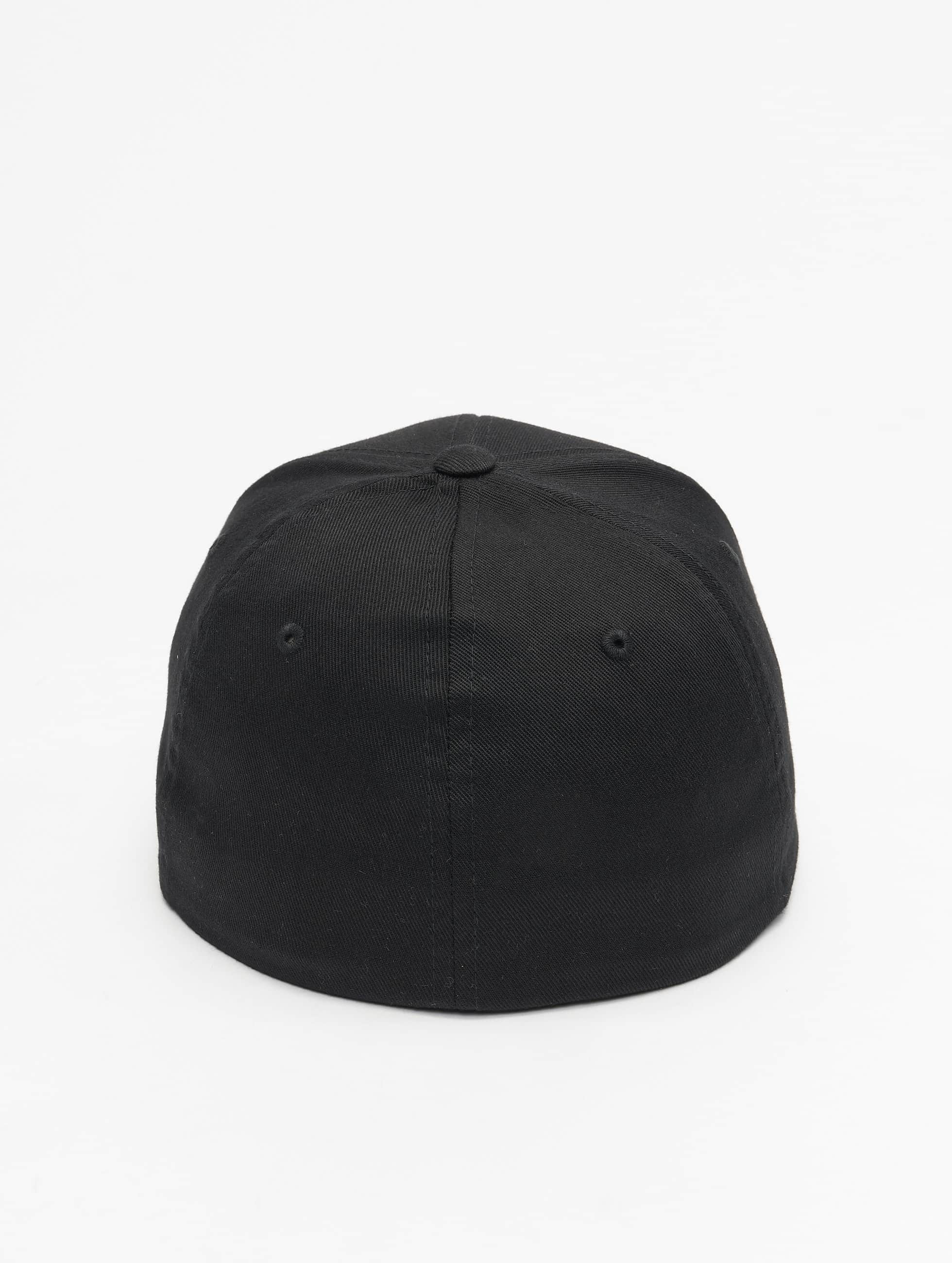 Mister Tee Flexfitted Cap Compton Curved schwarz