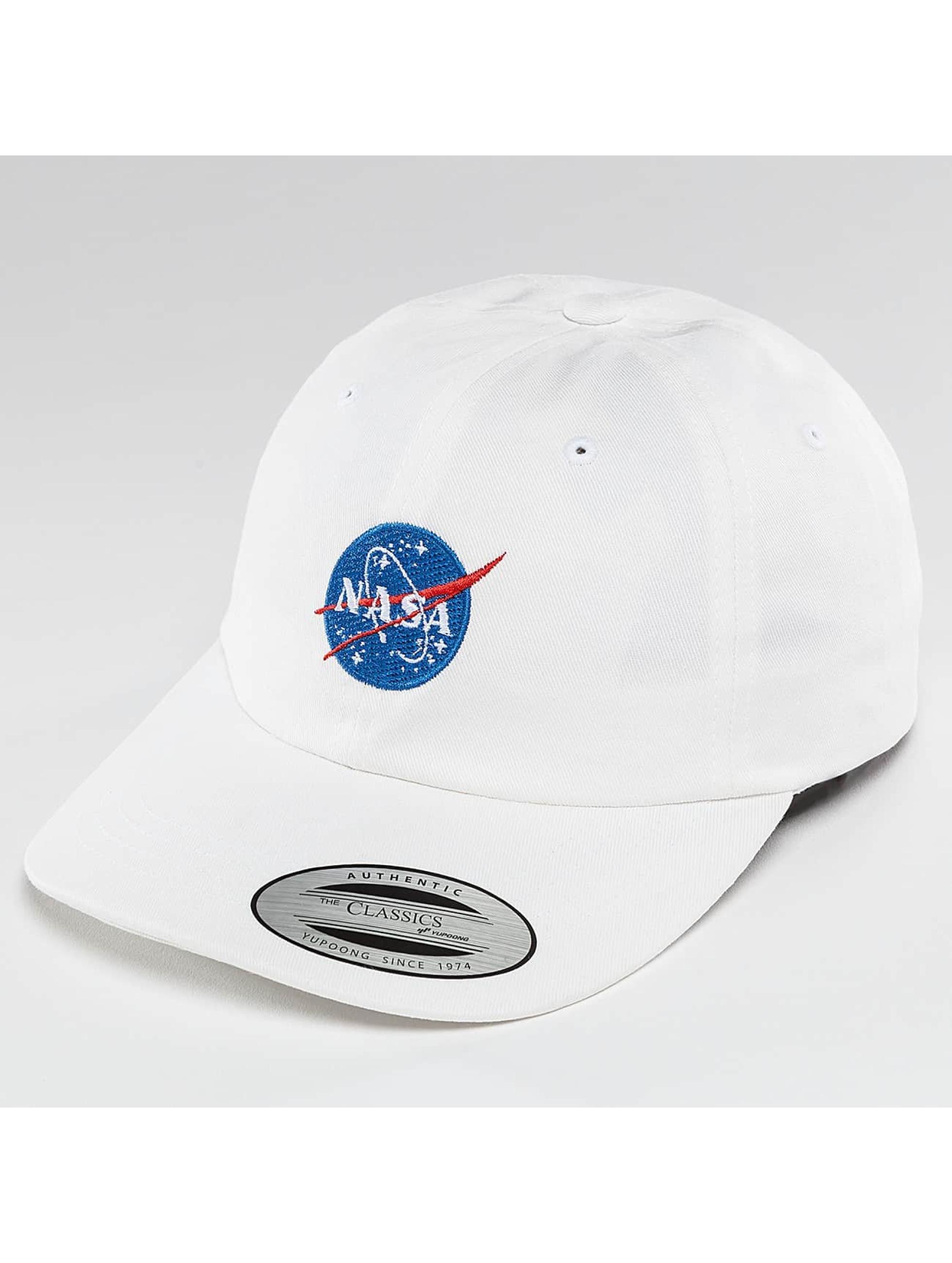 Mister Tee Gorra Snapback NASA blanco