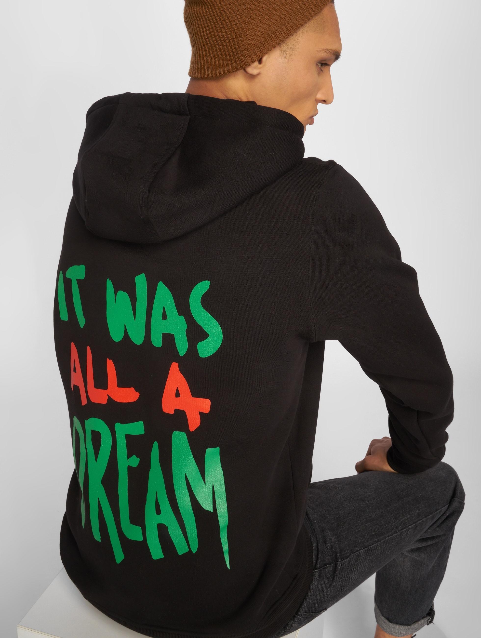 Mister Tee Hoodie A Dream svart