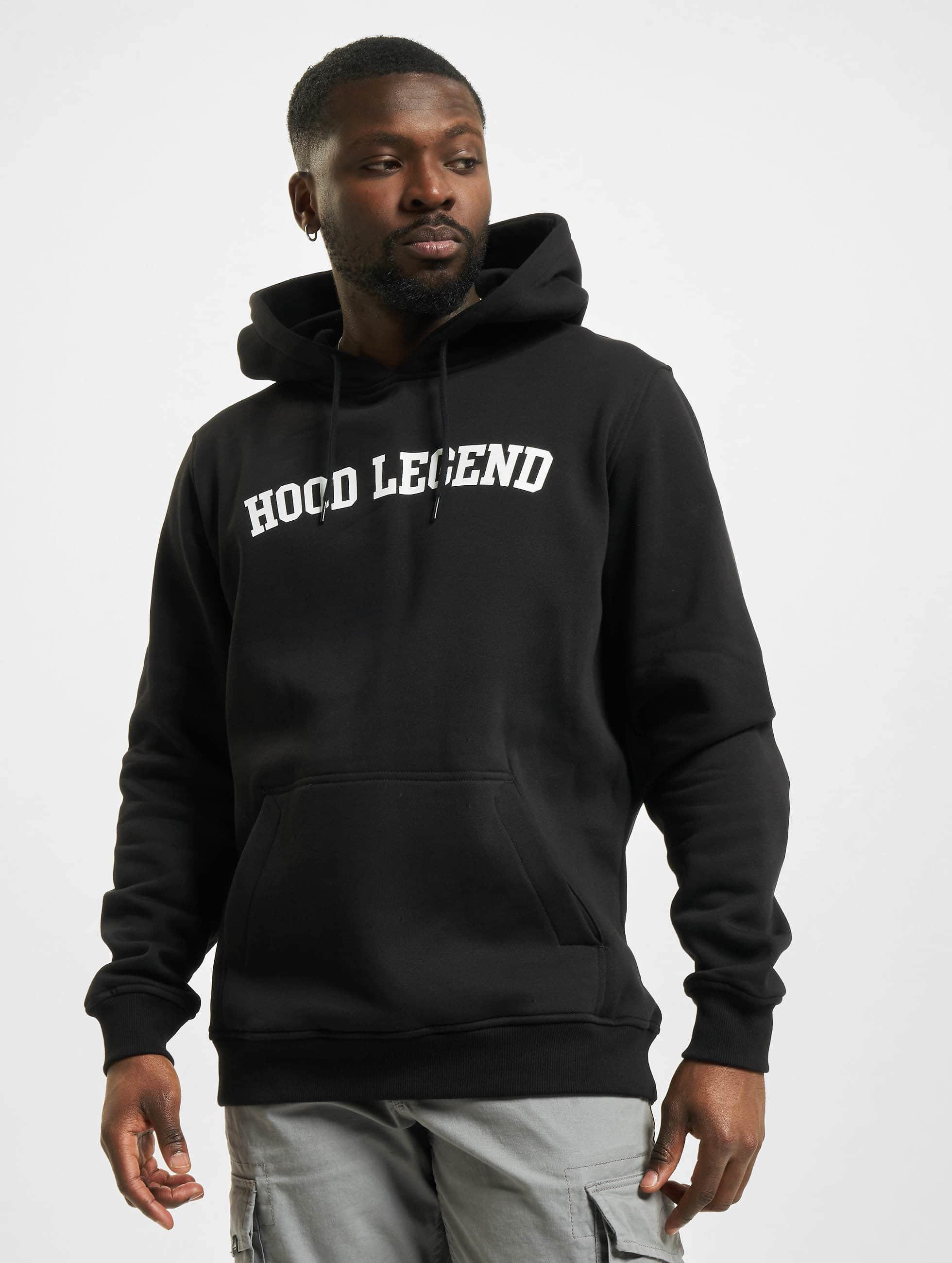 Mister Tee Hoodies Hood Legend čern