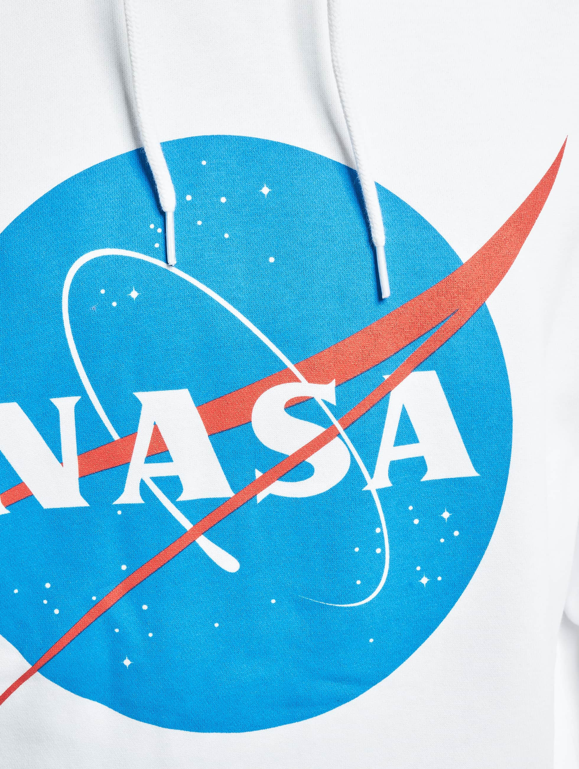 Mister Tee Hoodies NASA hvid