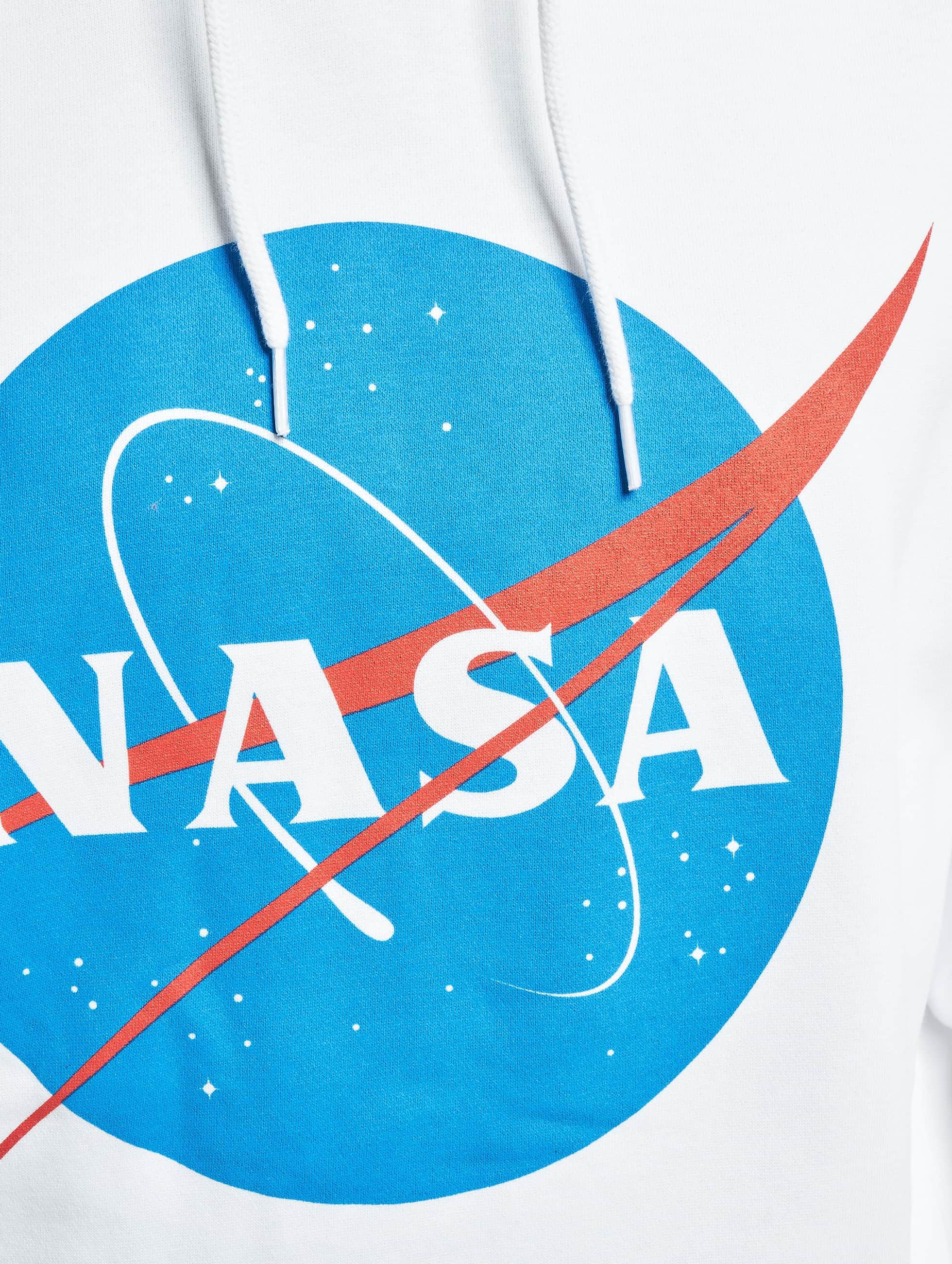 Mister Tee Hoody NASA weiß