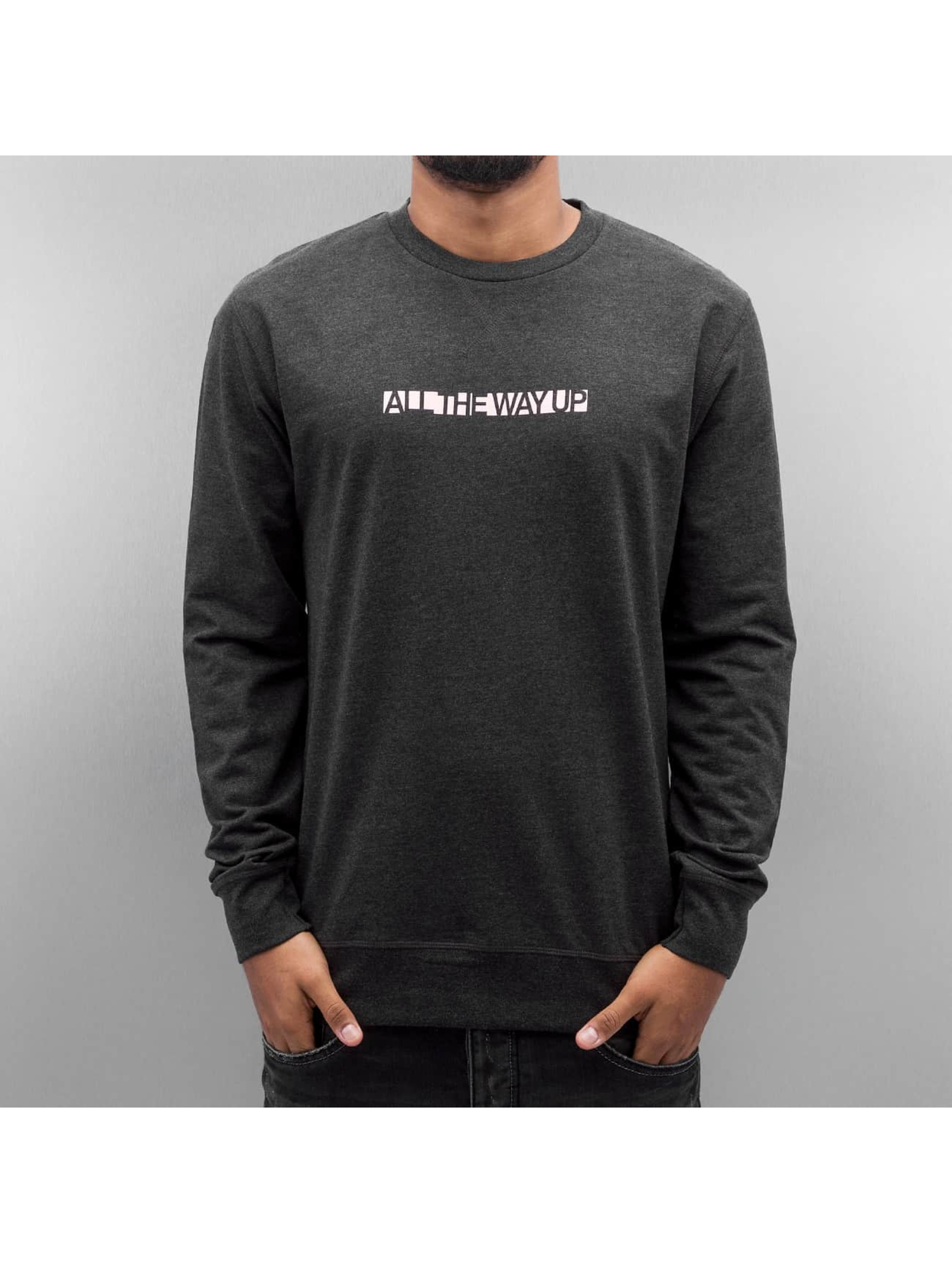 Mister Tee Pullover All The Way Up gray
