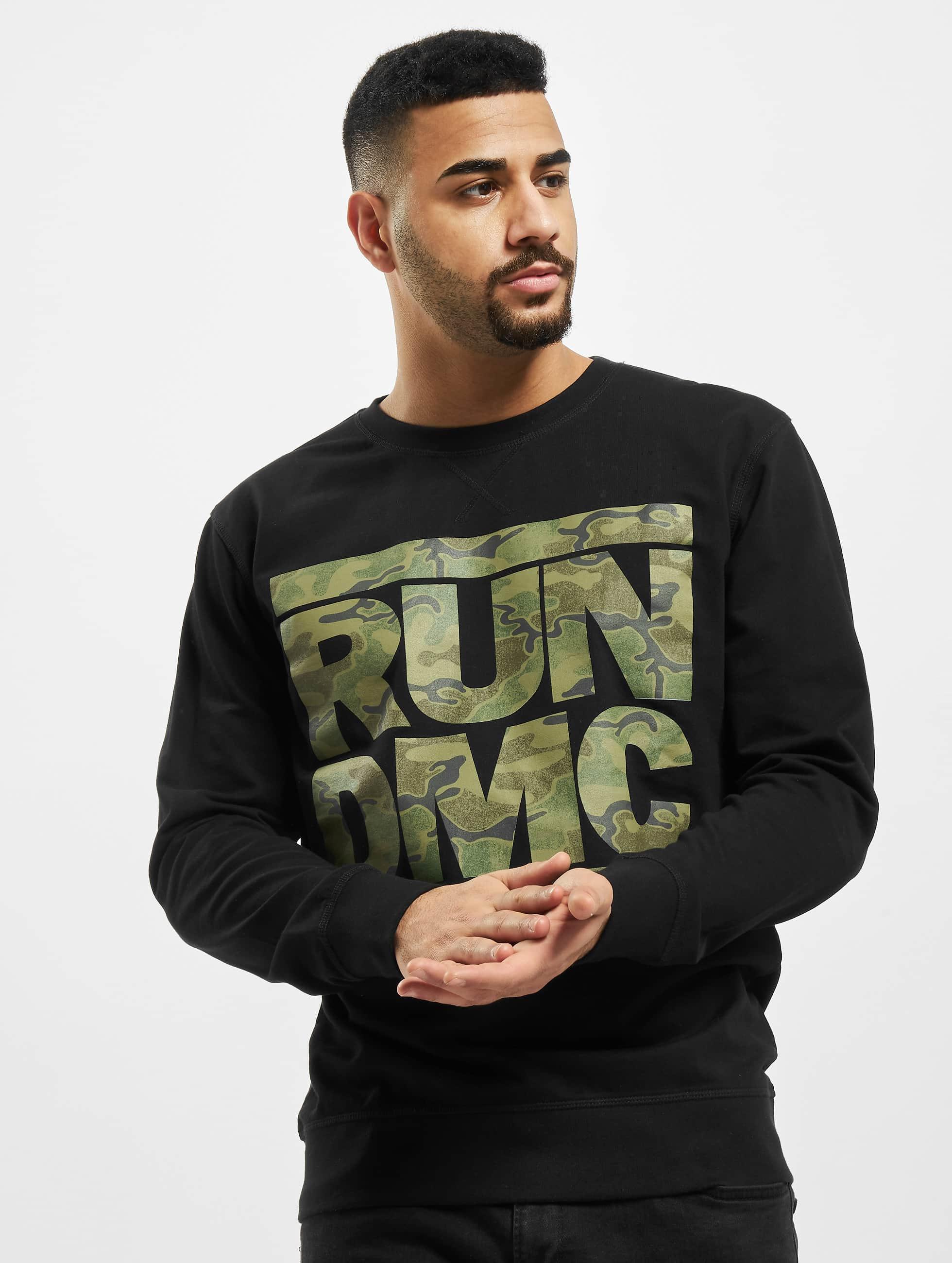 Mister Tee Pullover Run DMC Camo schwarz