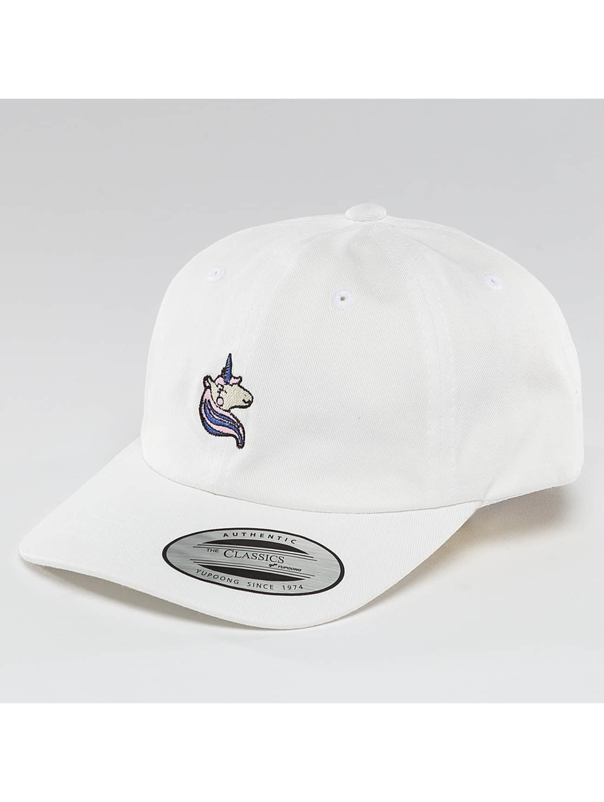 Mister Tee Snapback Cap Unicorn Dad Kids bianco