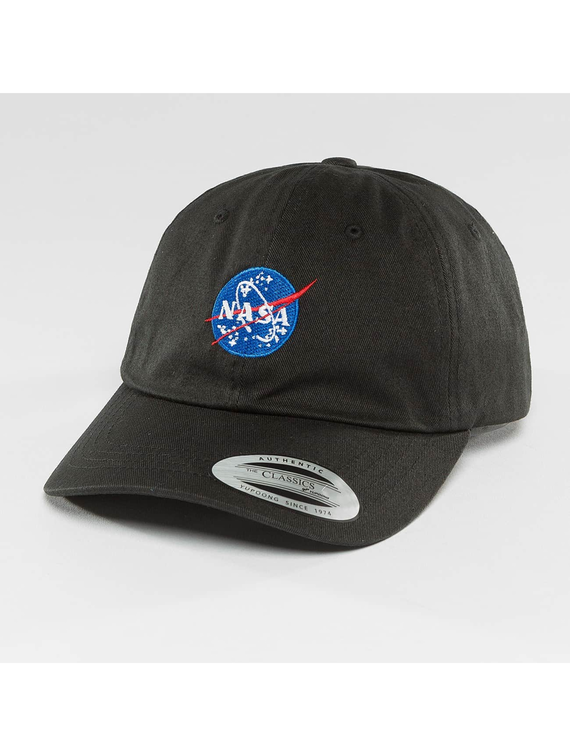 Mister Tee Snapback Cap NASA Dad black