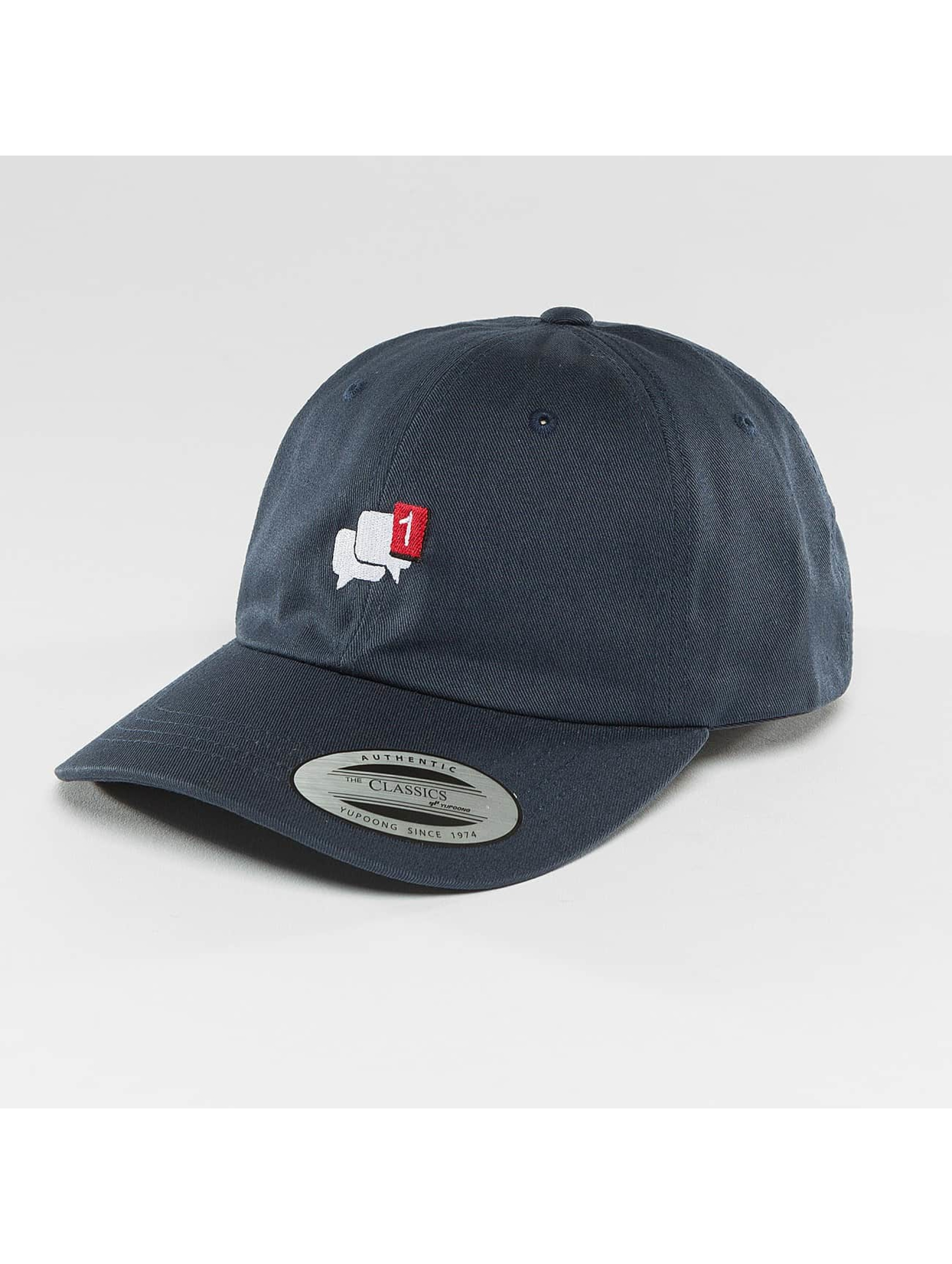 Mister Tee Snapback Cap Message Dad blue
