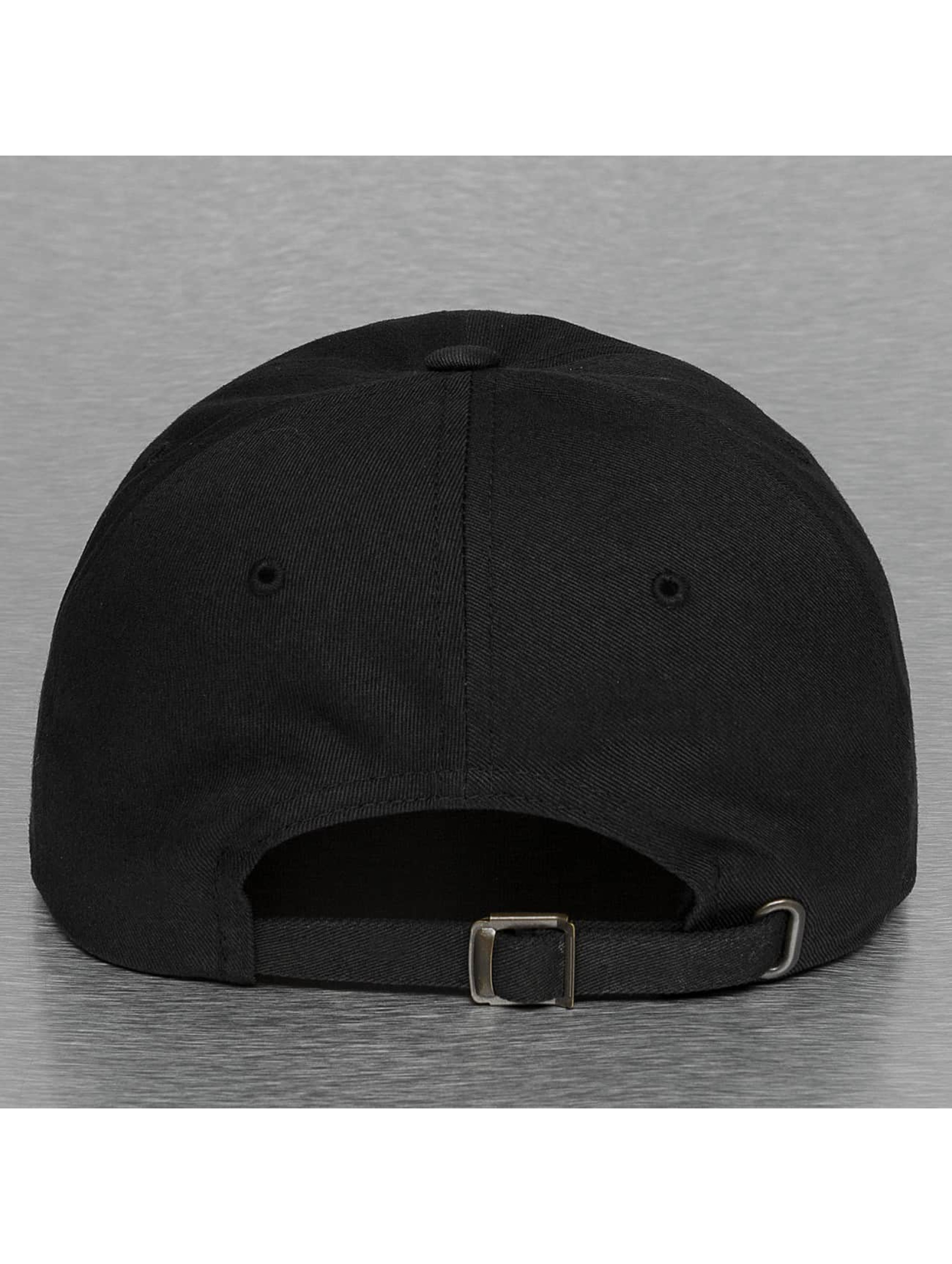 Mister Tee Snapback Cap Beer schwarz
