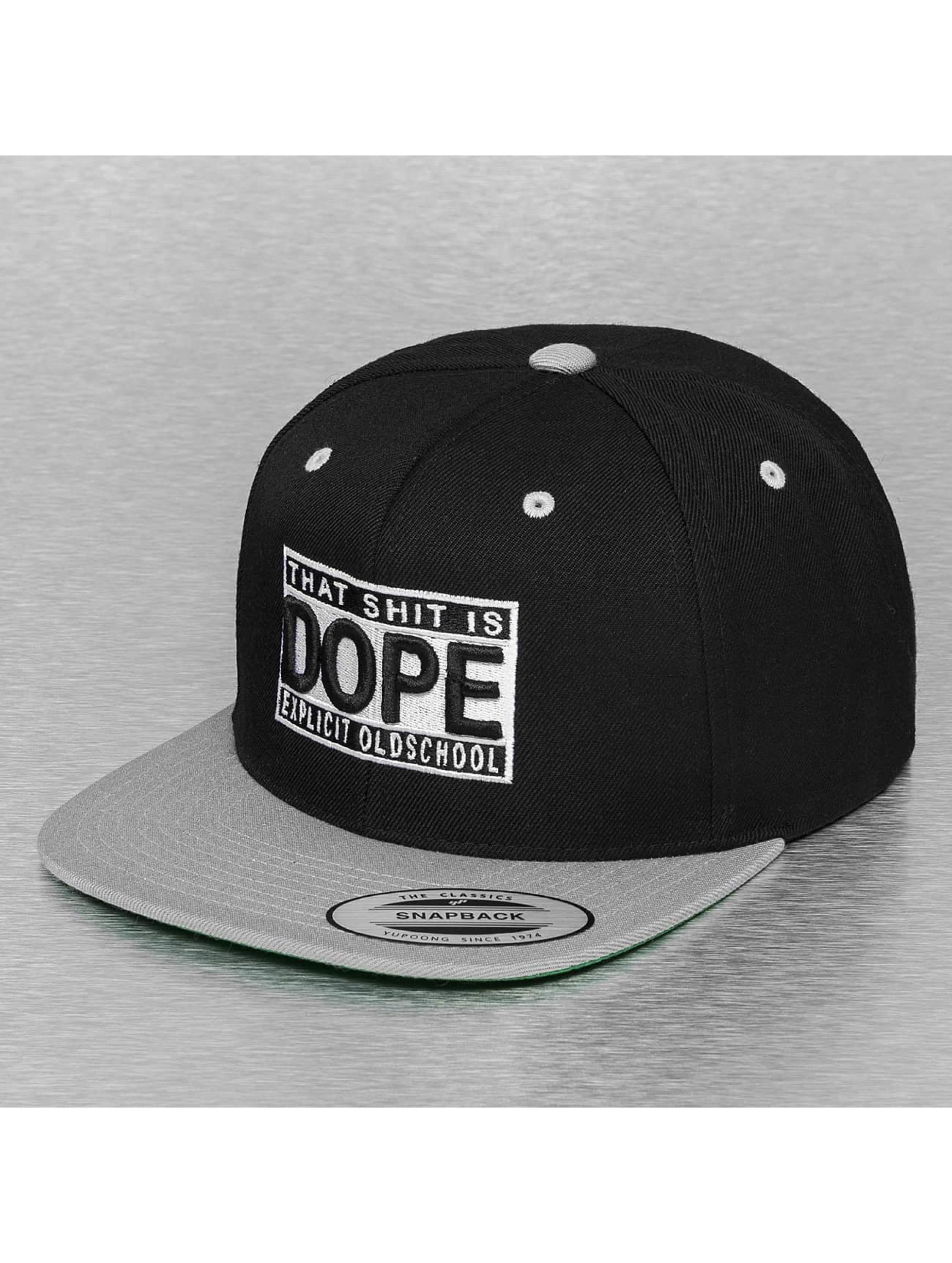 Mister Tee snapback cap Shit Is Dope zwart