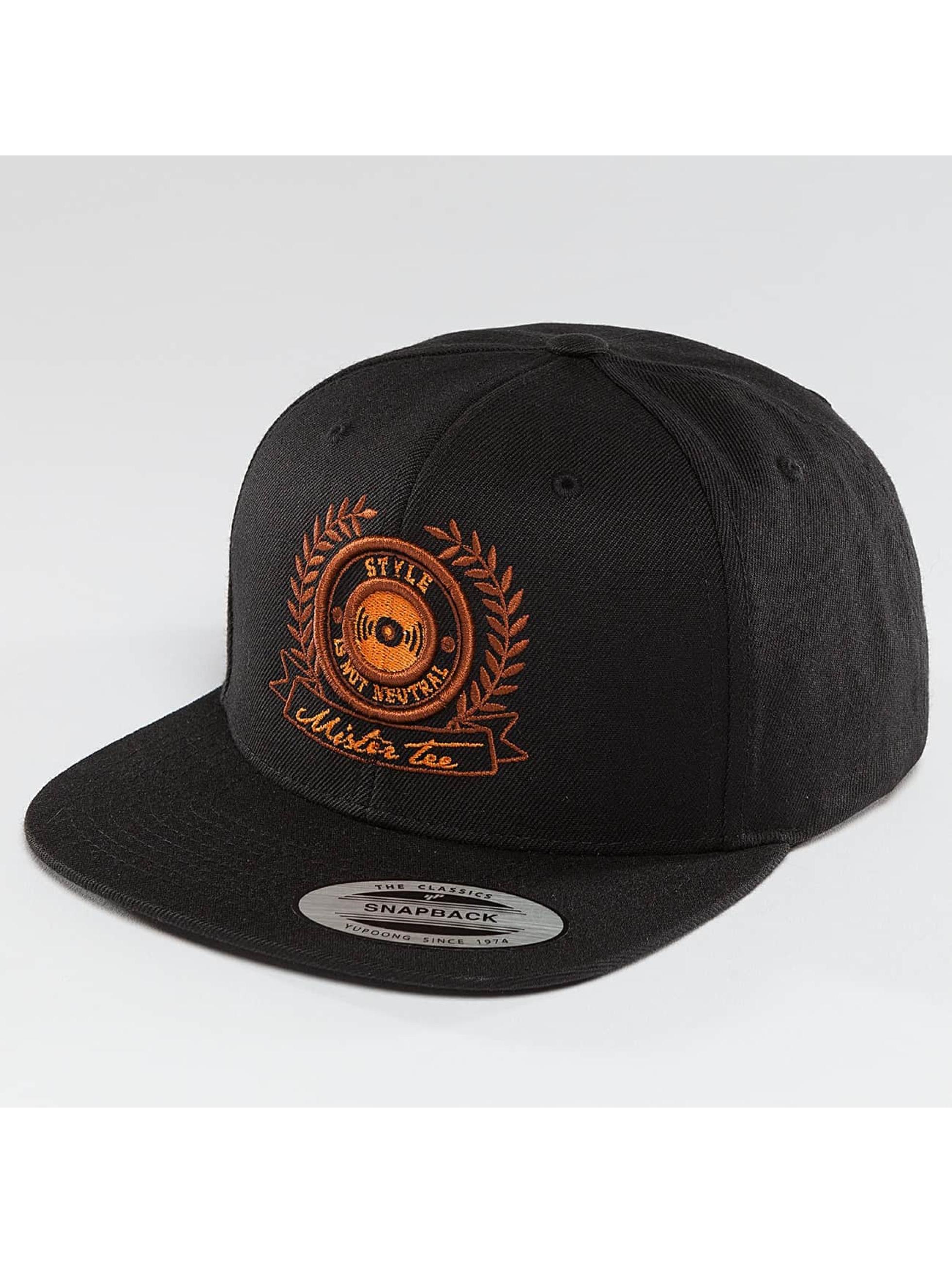 Mister Tee snapback cap S.I.N.N. zwart