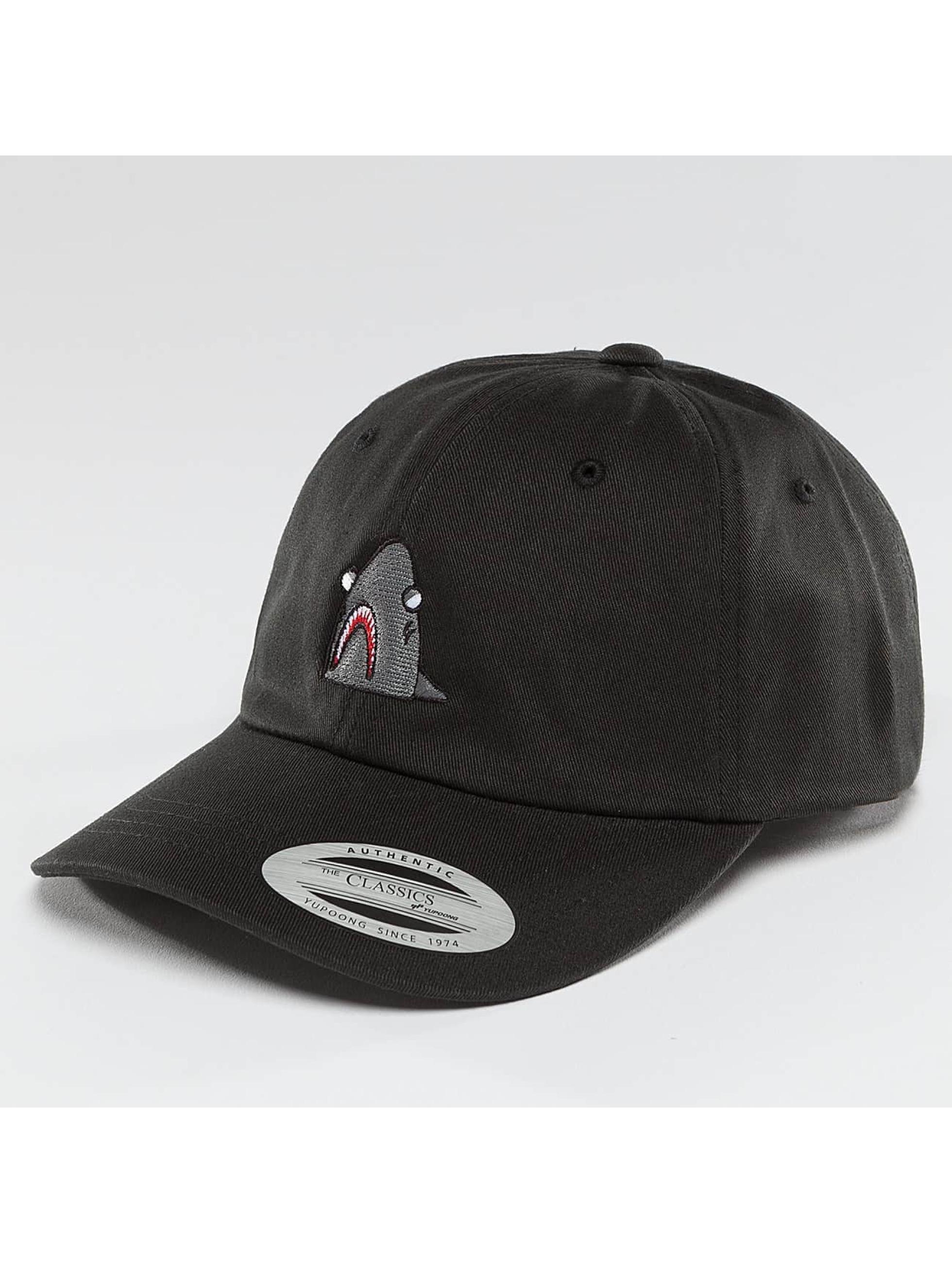 Mister Tee Snapback Caps Shark Dad čern