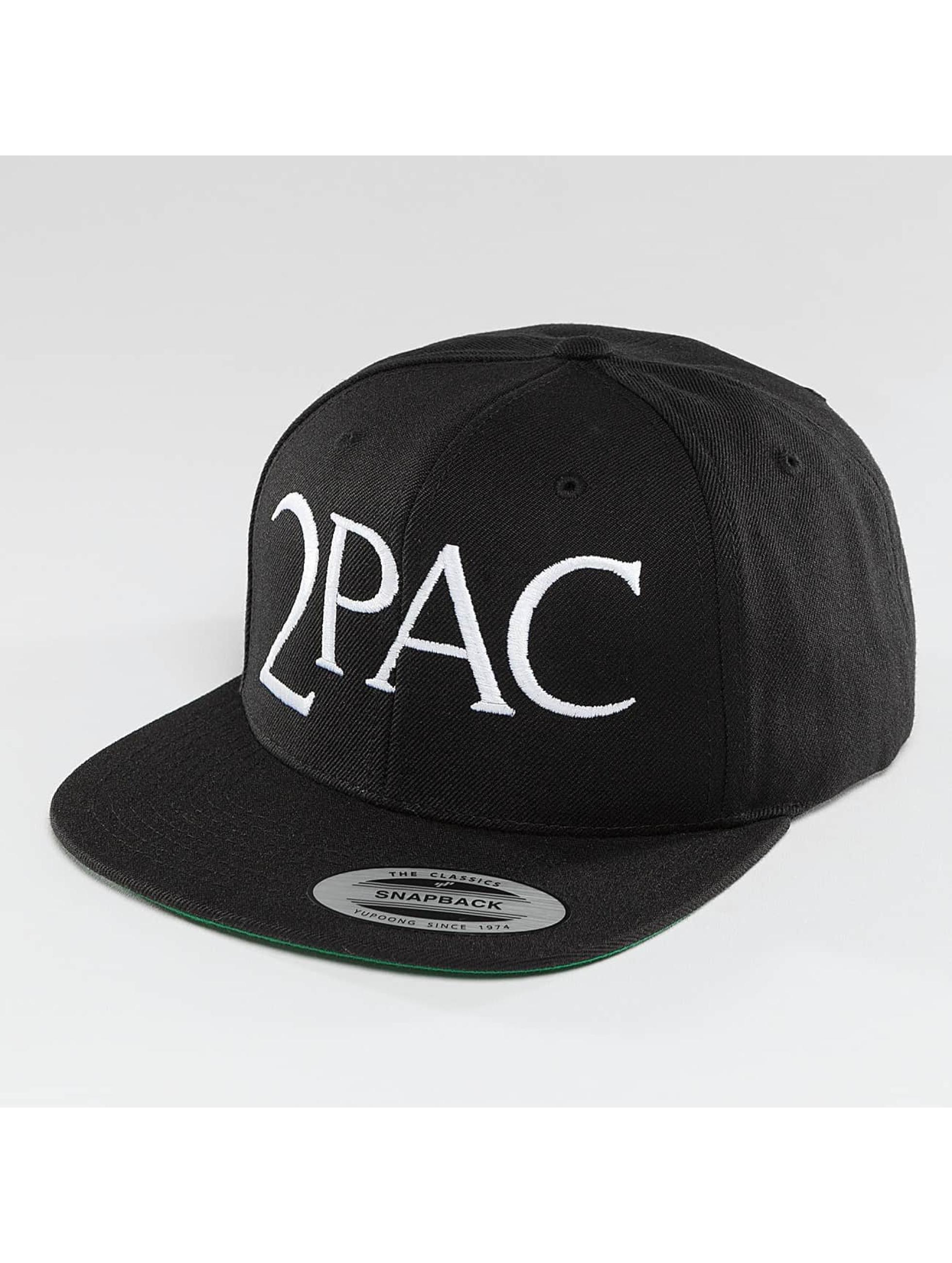 Mister Tee Snapback Caps 2Pac A.E.O.M. čern