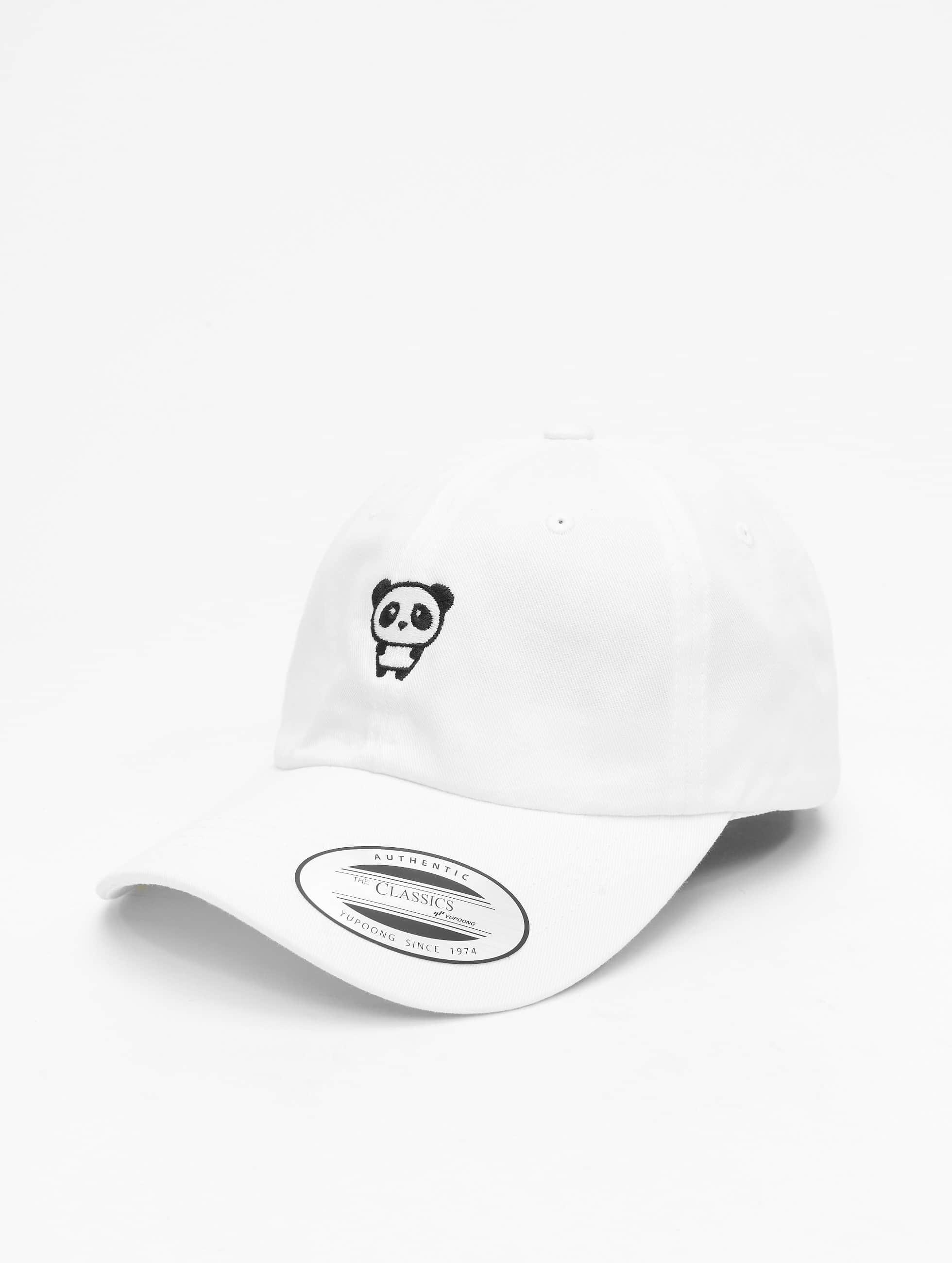 Mister Tee Snapback Caps Panda Dap hvit