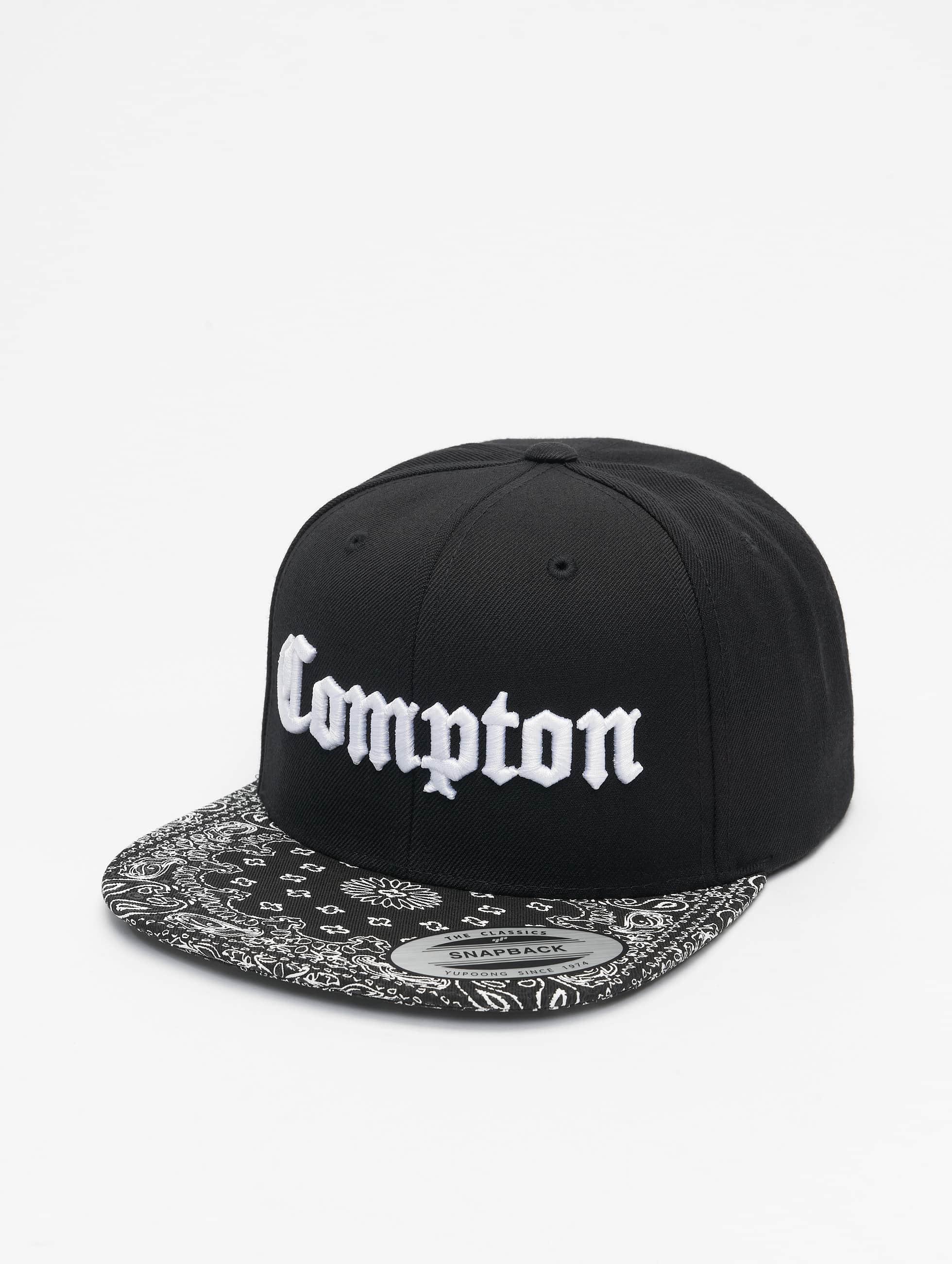 Mister Tee Snapback Caps Compton Bandana musta