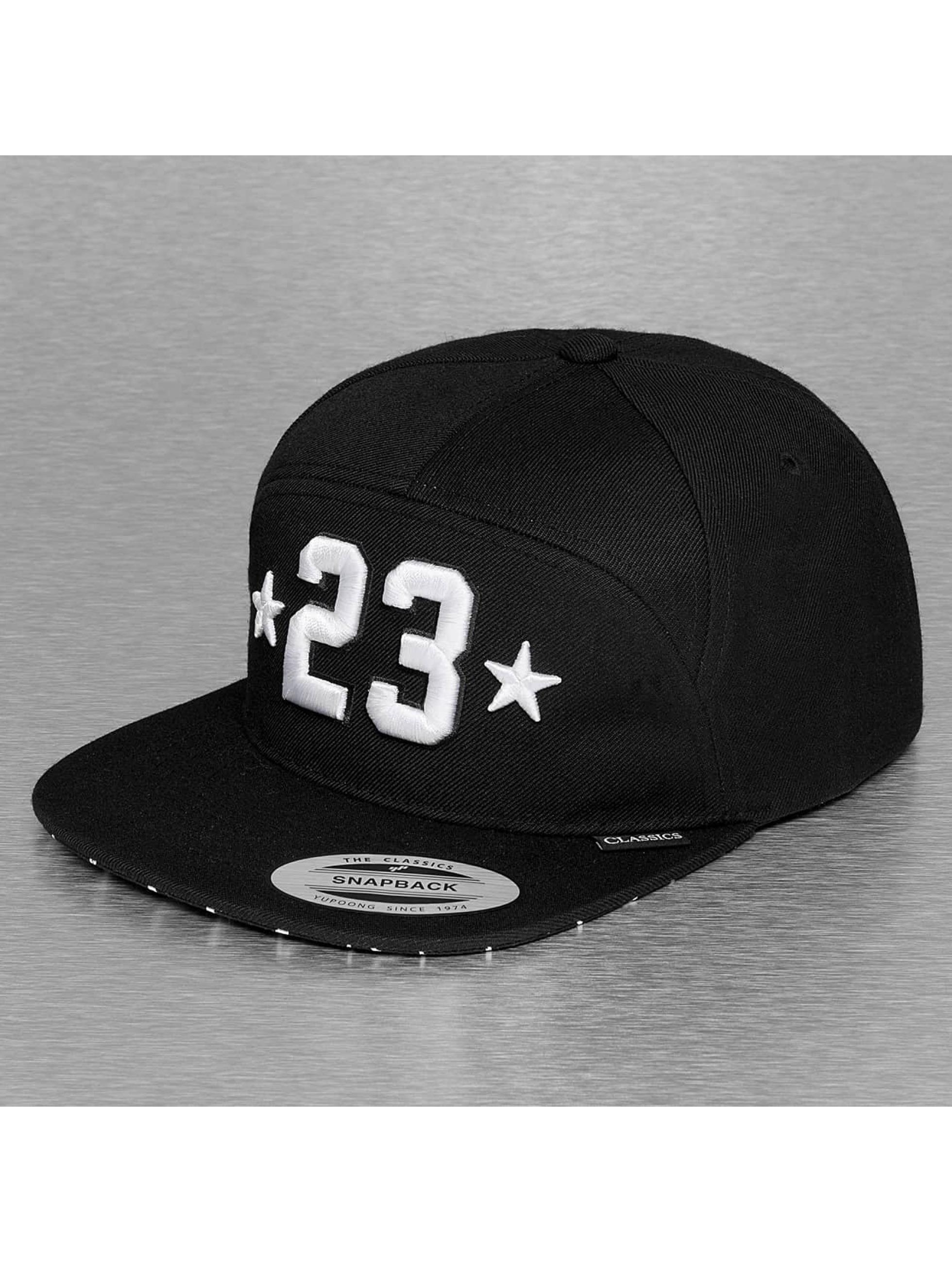 Mister Tee Snapback Caps Legend 23 musta