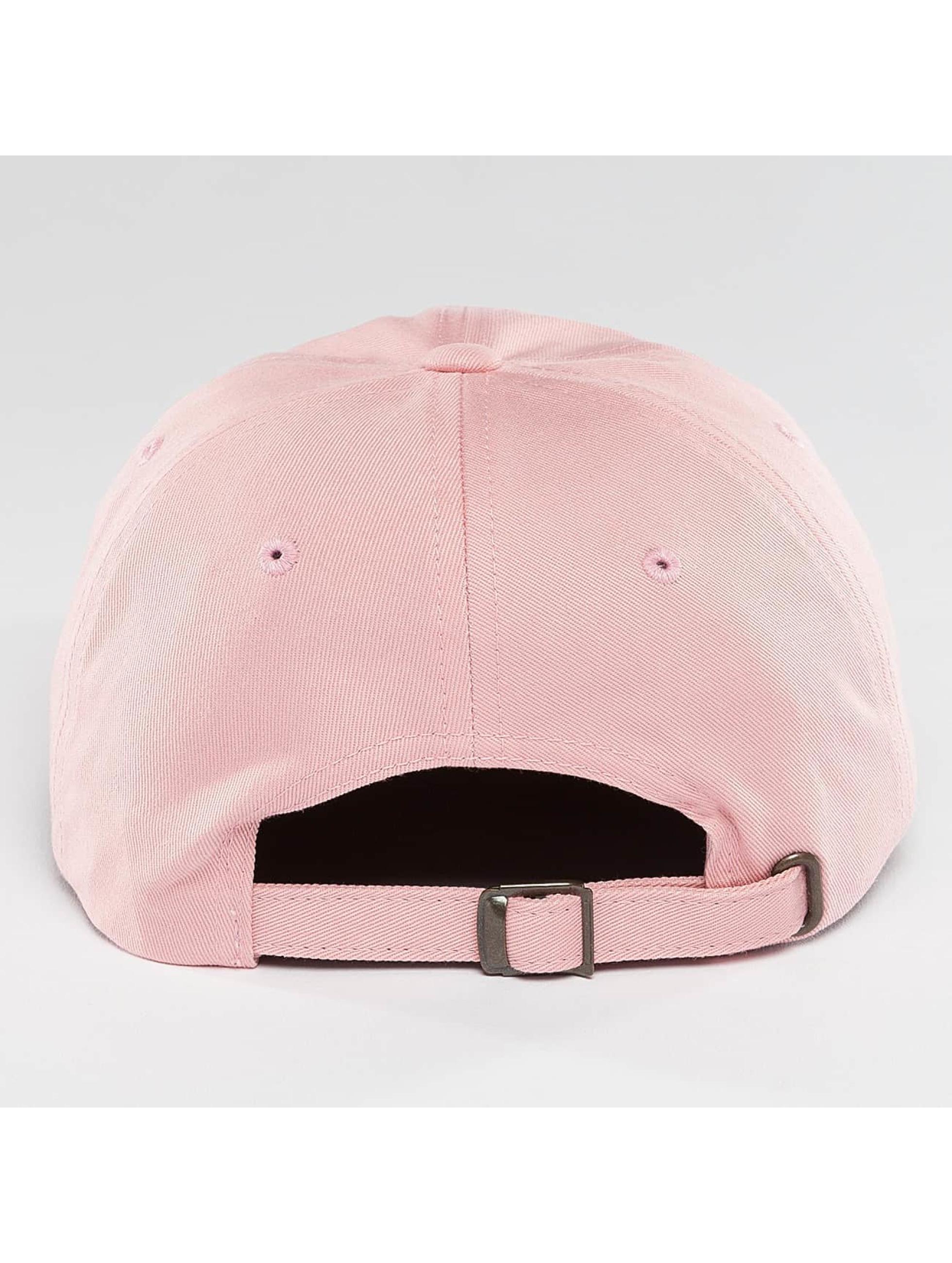 Mister Tee Snapback Caps Compton růžový