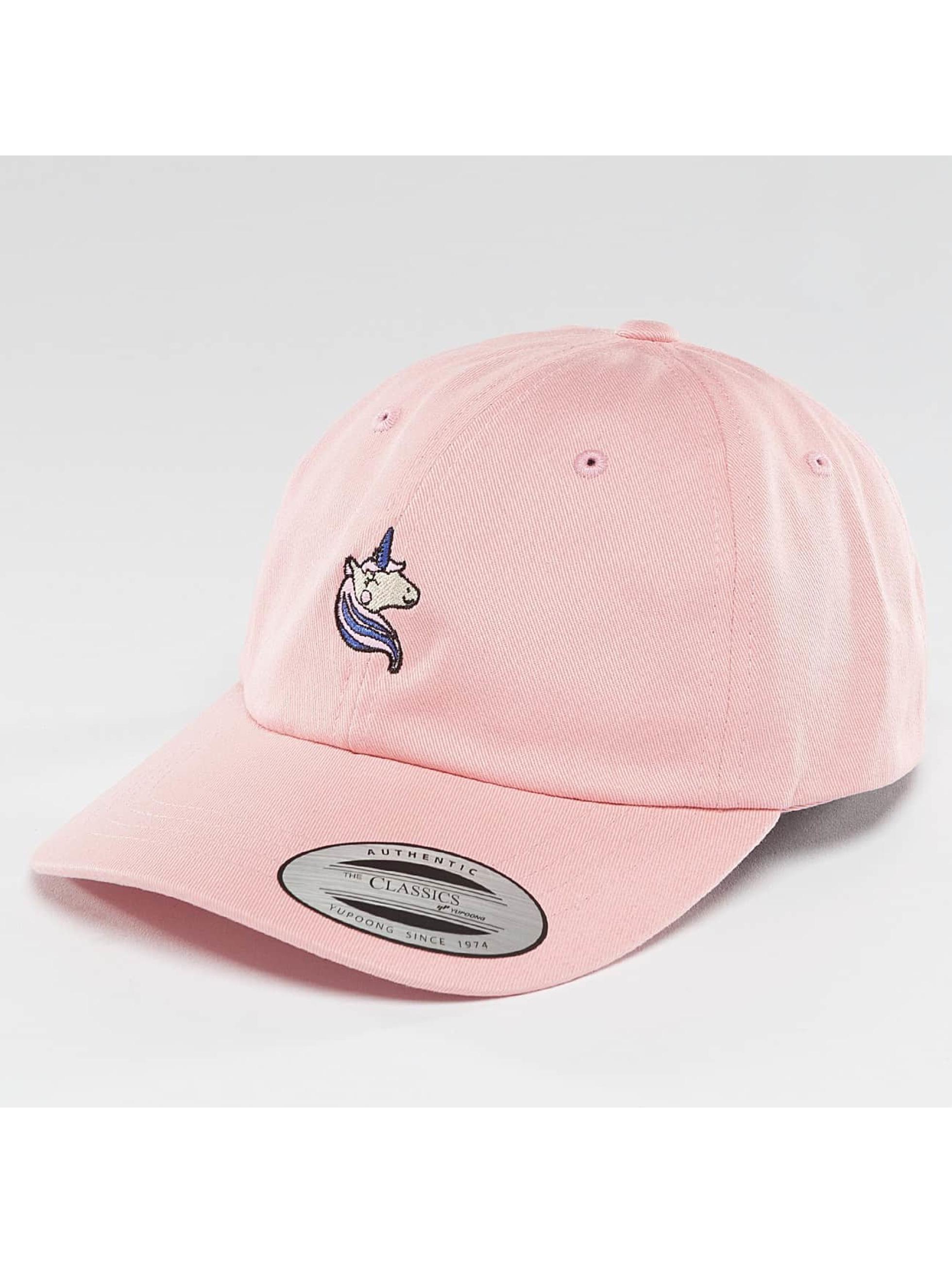 Mister Tee Snapback Caps Unicorn Dad roosa