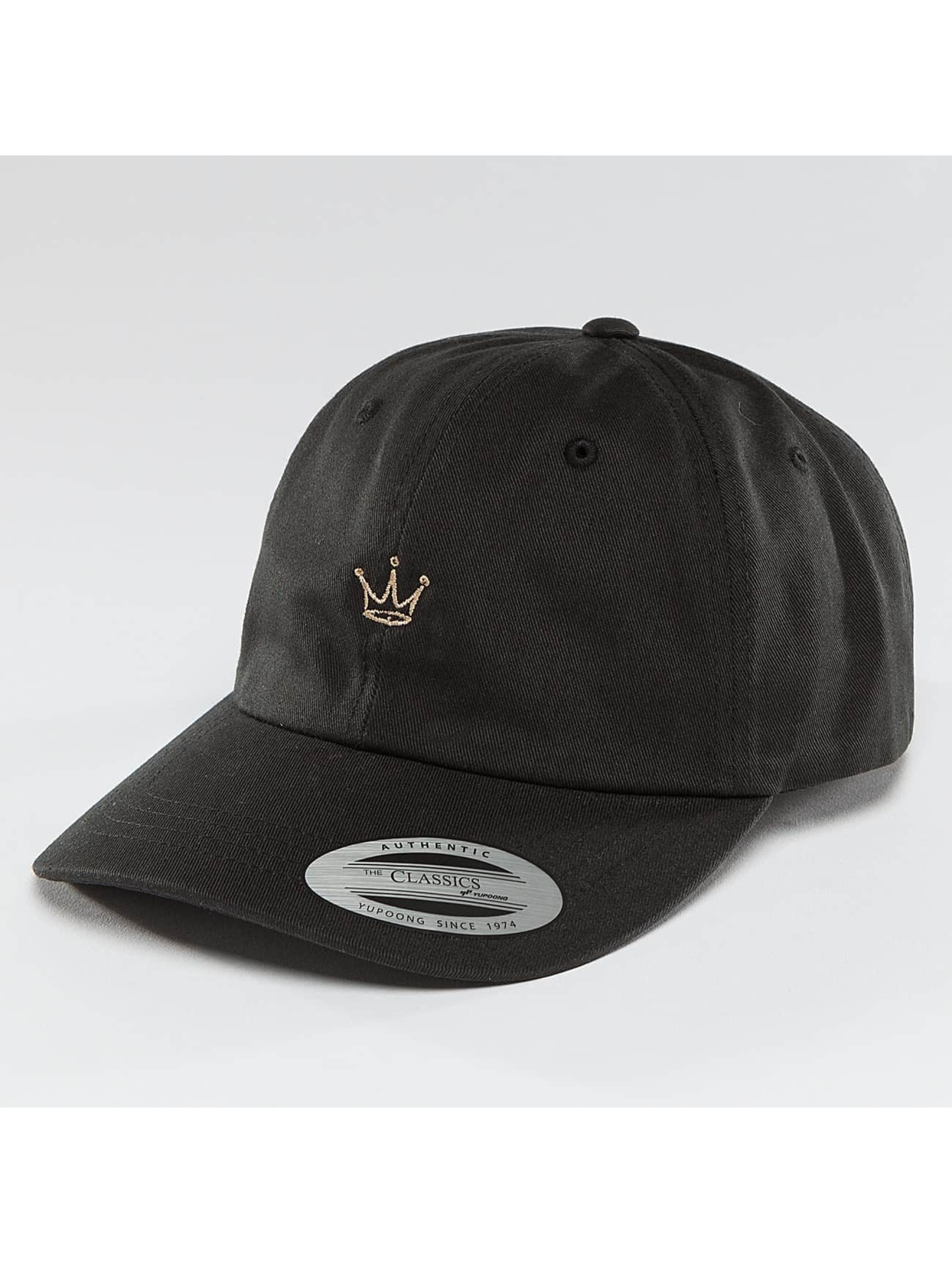 Mister Tee Snapback Caps Crown Dad svart
