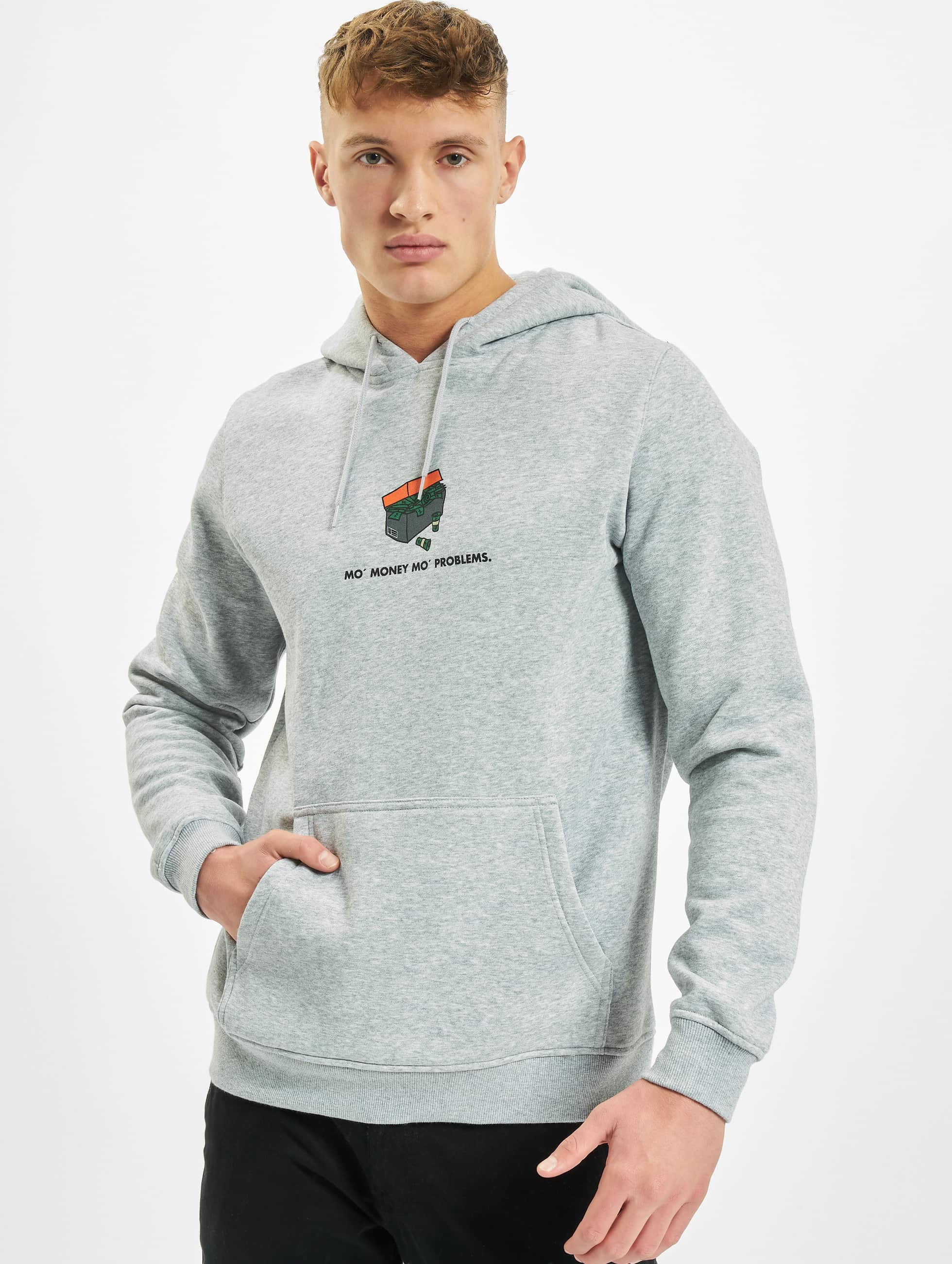 Mister Tee Sweat capuche Shoebox gris
