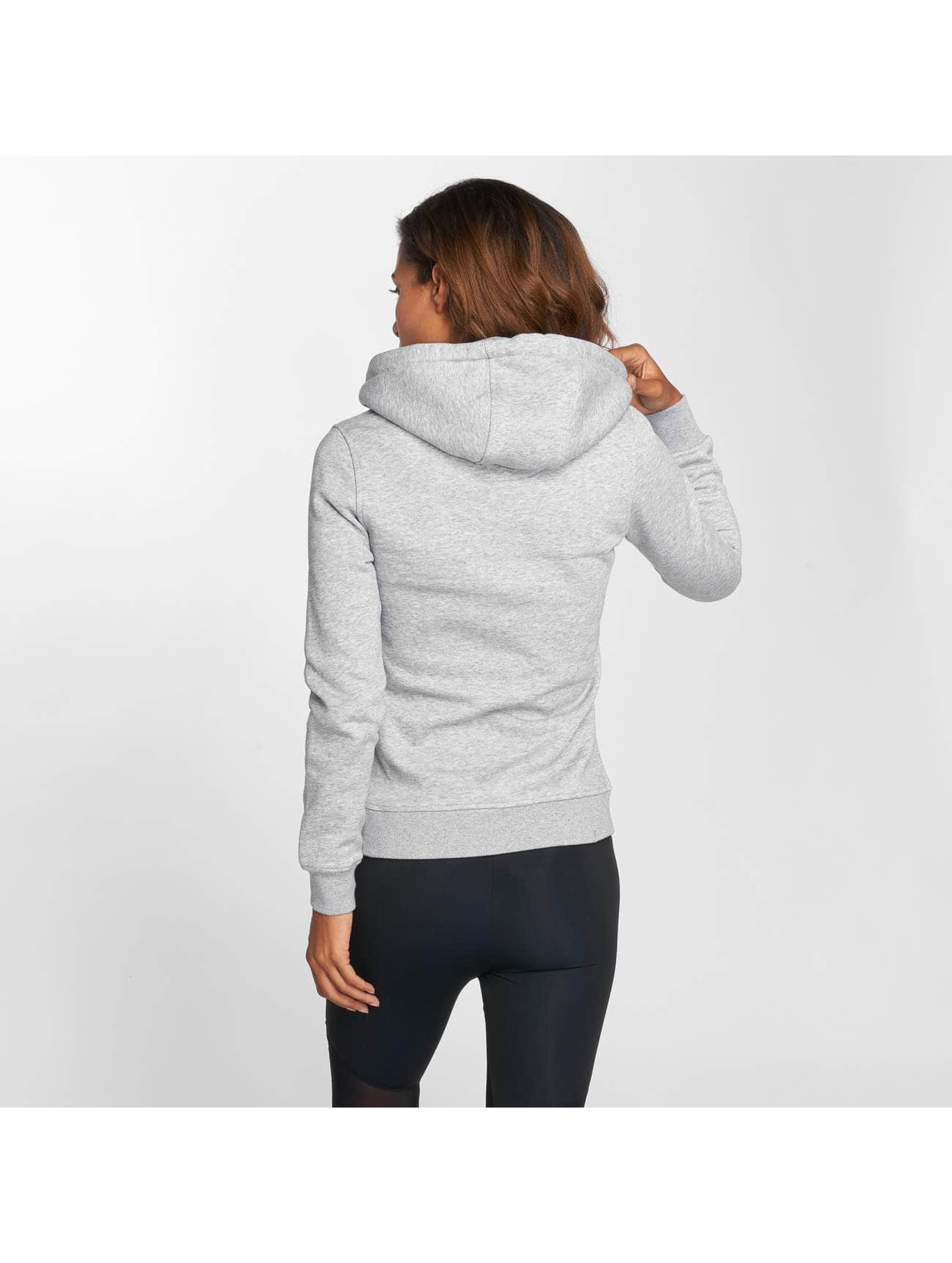 Mister Tee Sweat capuche Eyelashes gris