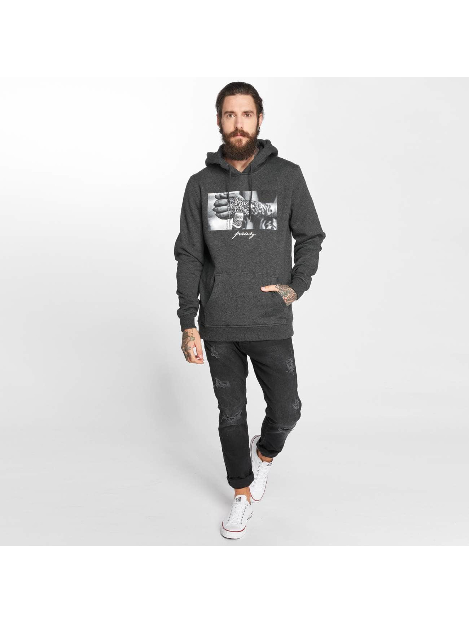 Mister Tee Sweat capuche Pray 2.0 gris