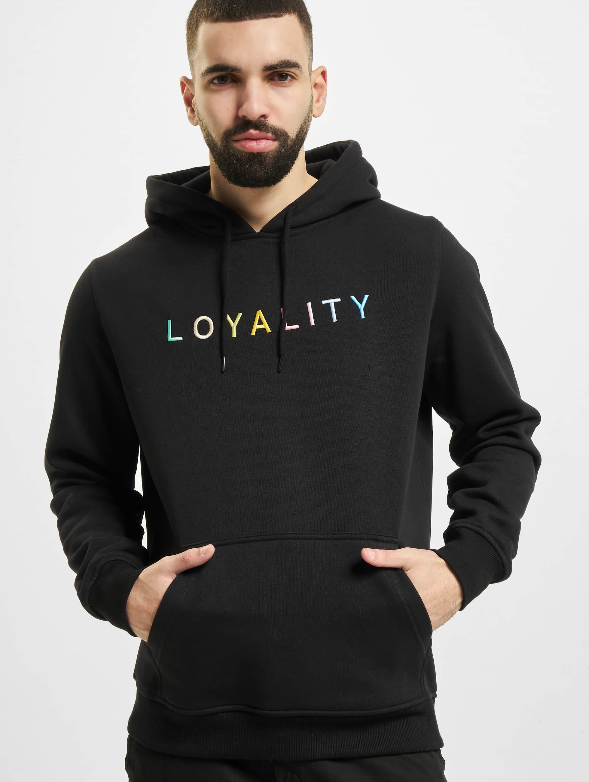 Mister Tee Sweat capuche Loyality noir