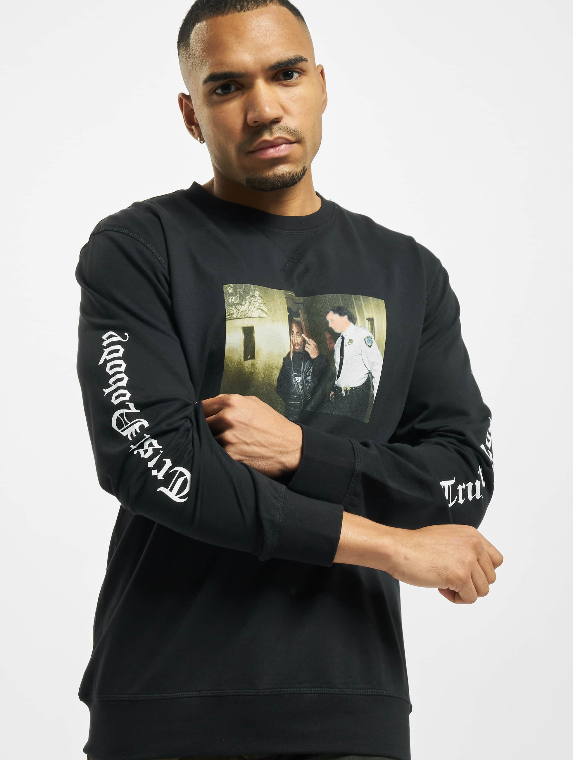 Mister Tee Swetry Tupac Trust Nobody czarny