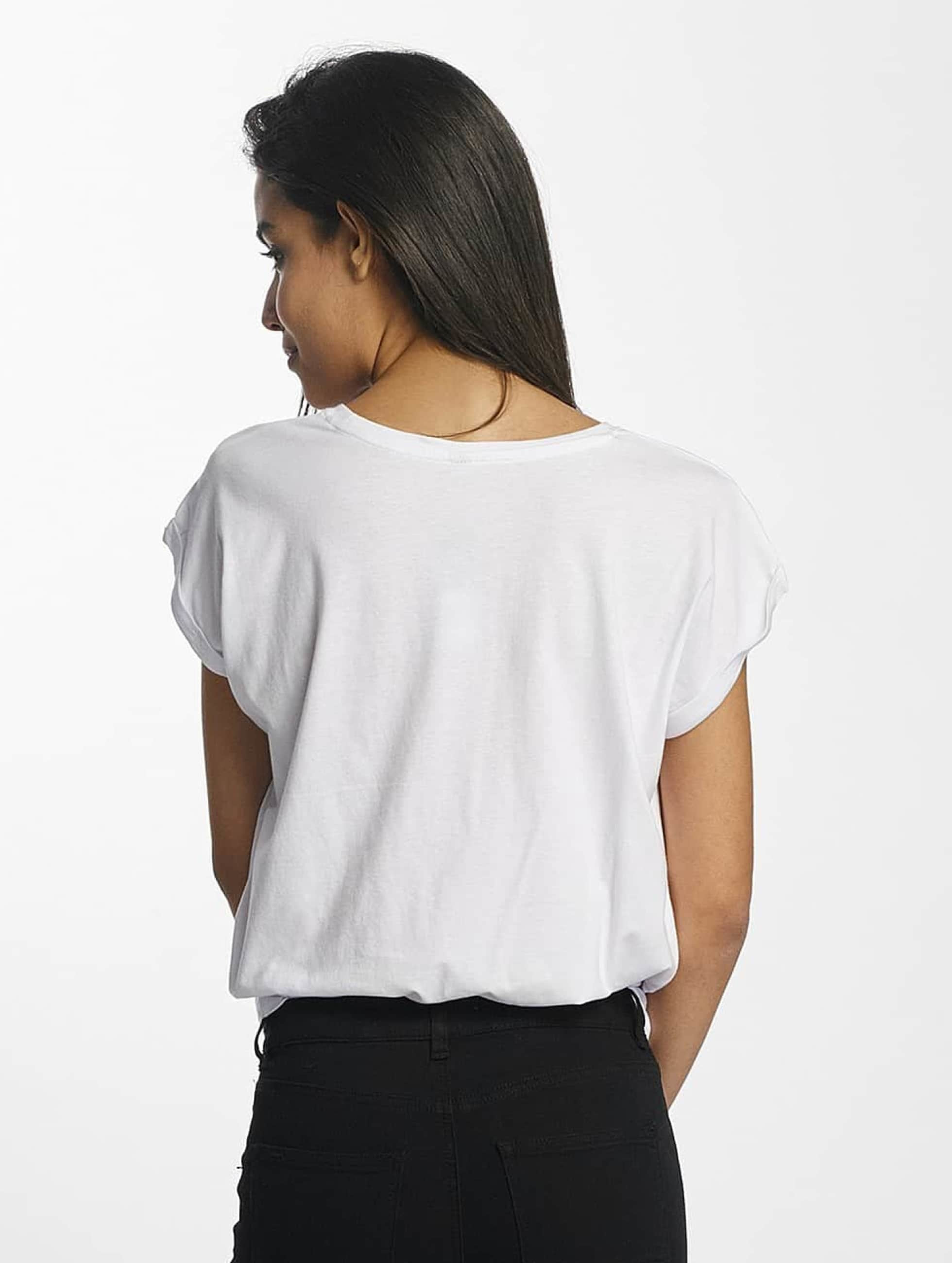 Mister Tee T-paidat Zero Likes valkoinen