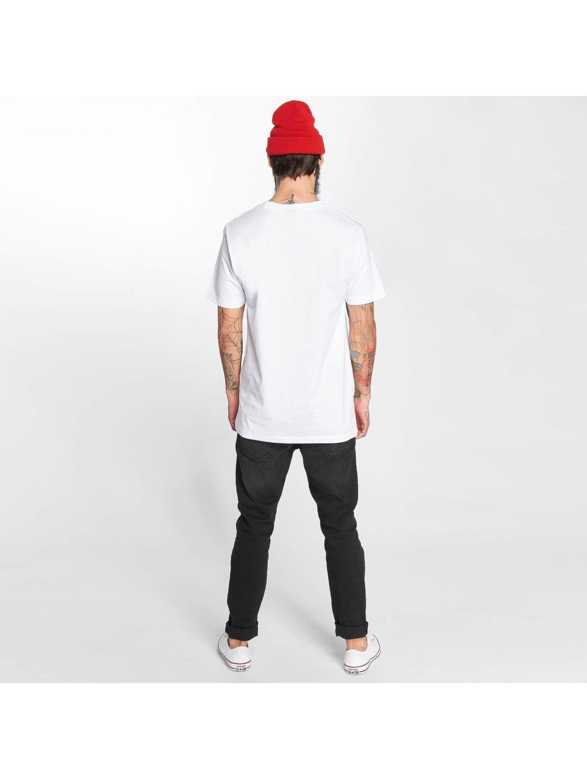 Mister Tee T-paidat LA Rose valkoinen