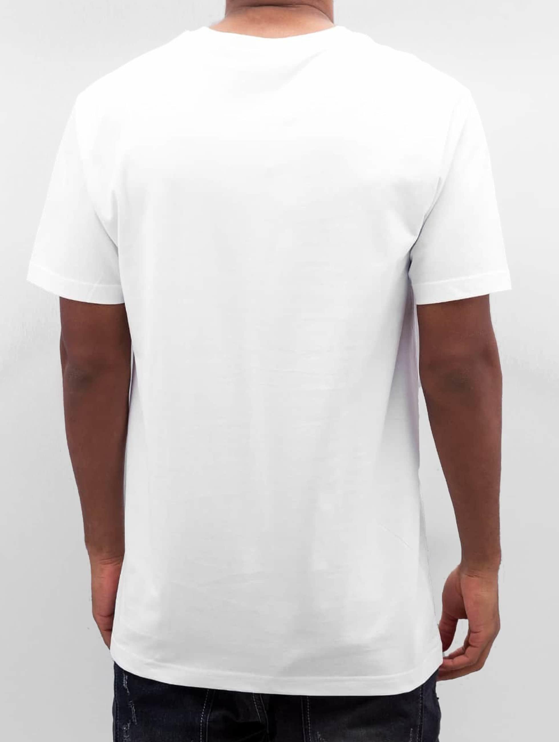 Mister Tee T-shirt Peanutbutter bianco