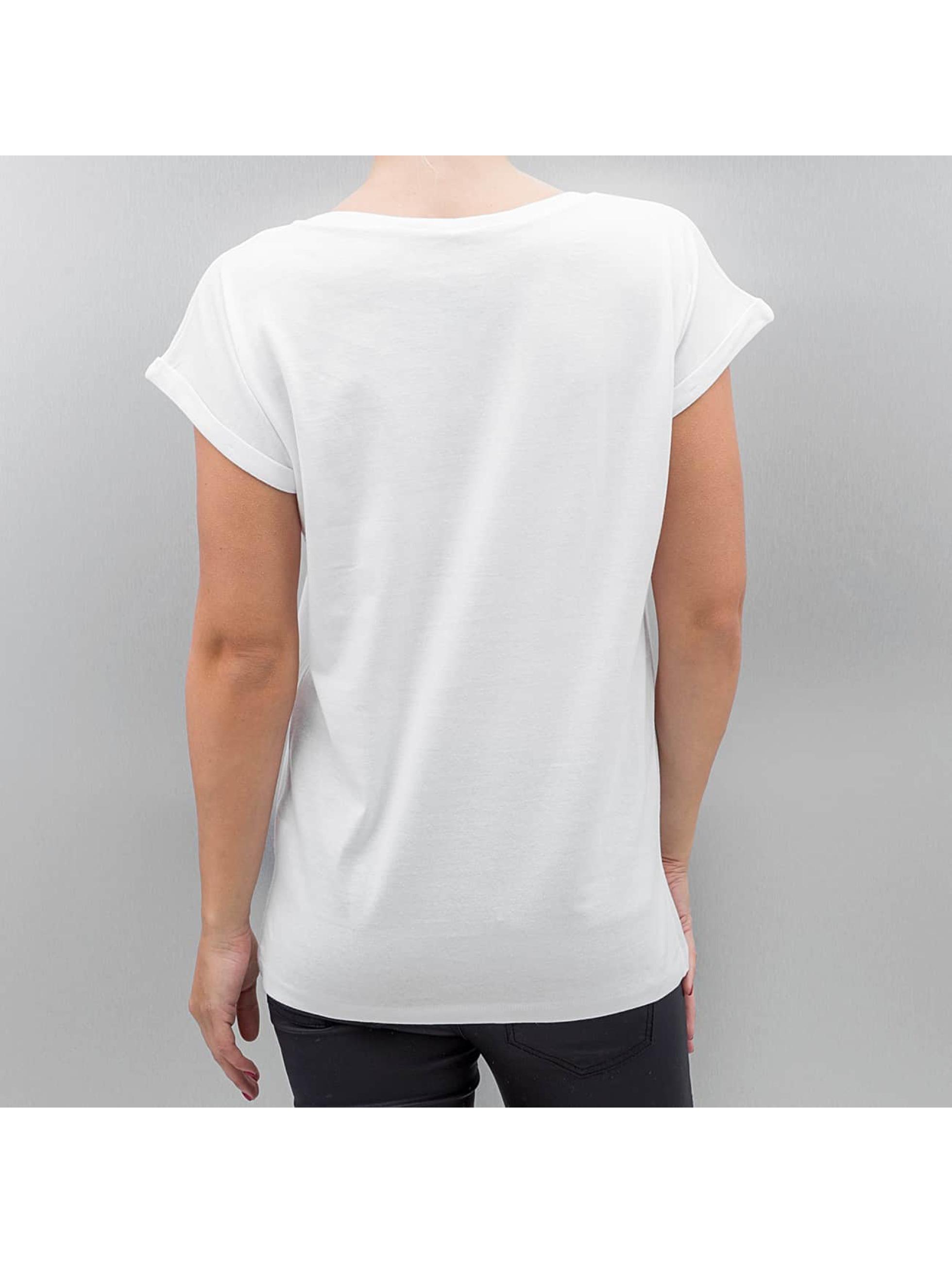 Mister Tee T-shirt Ladies John Lennon Bluered bianco