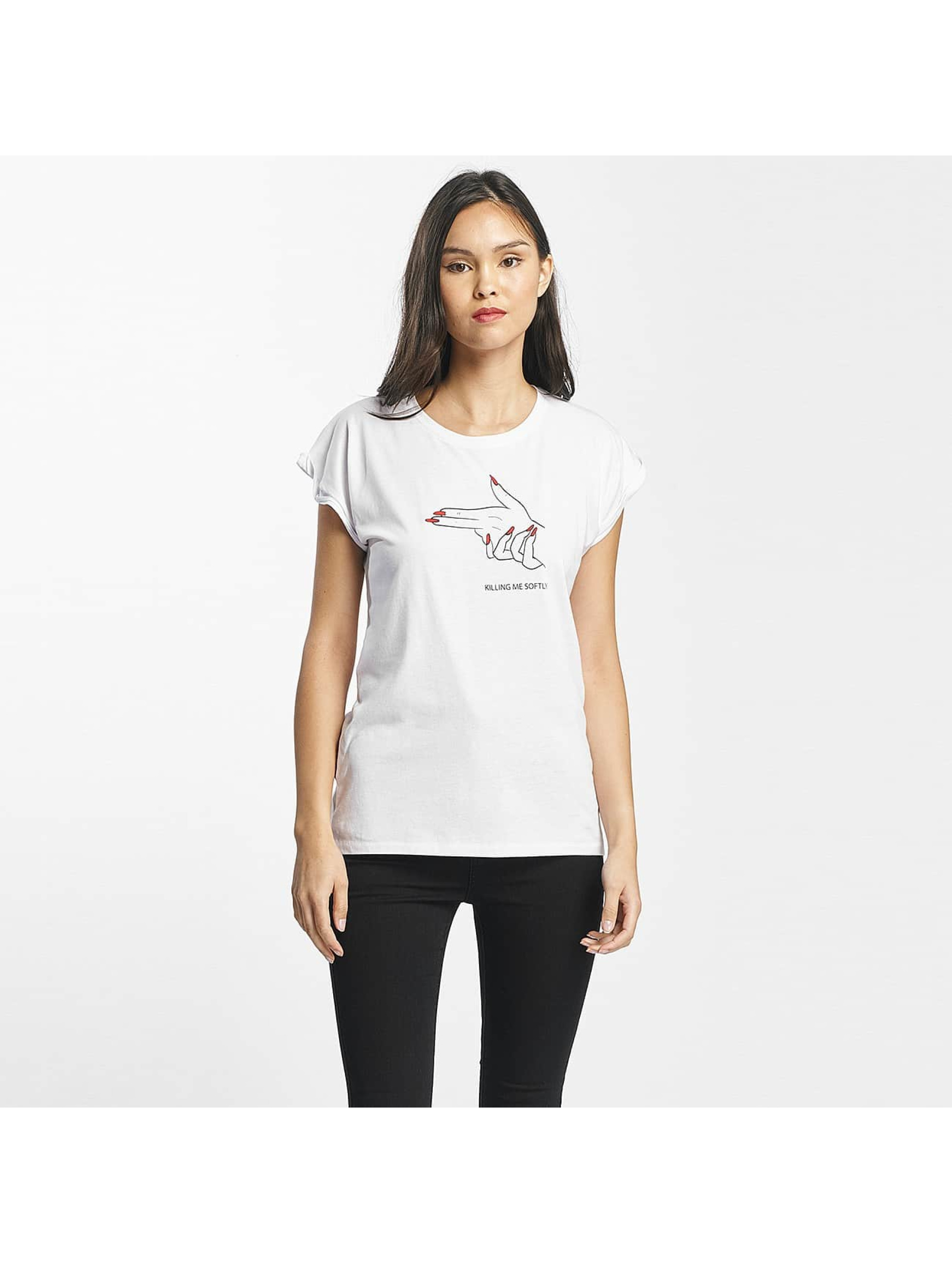 Mister Tee T-shirt Killing Me Softly bianco