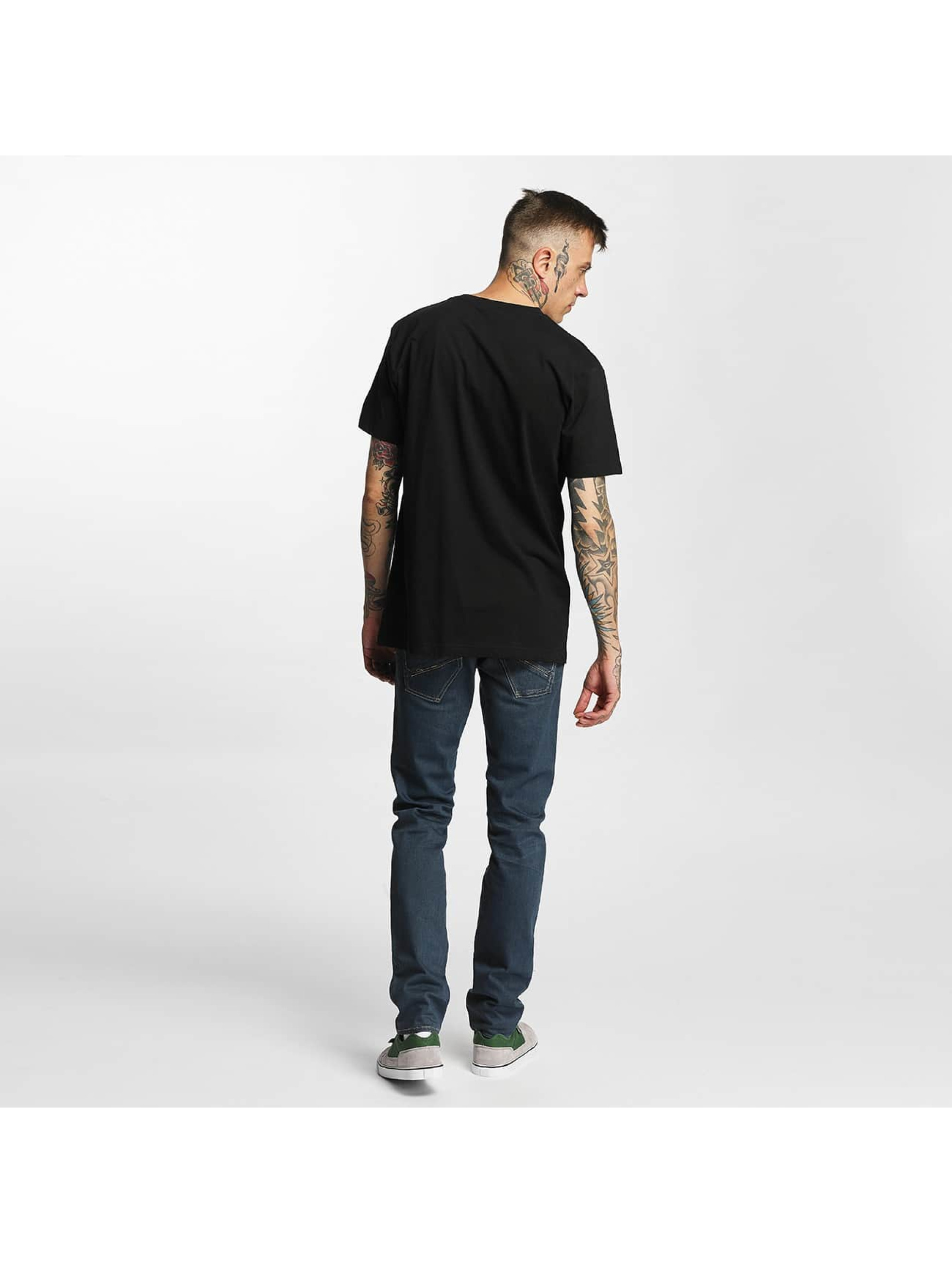 Mister Tee T-Shirt LA Rose black