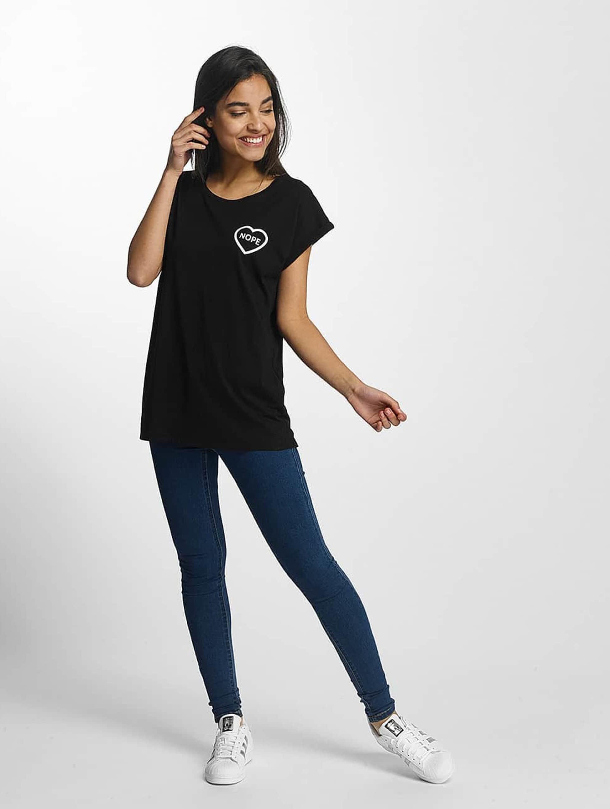 Mister Tee T-Shirt Nope black