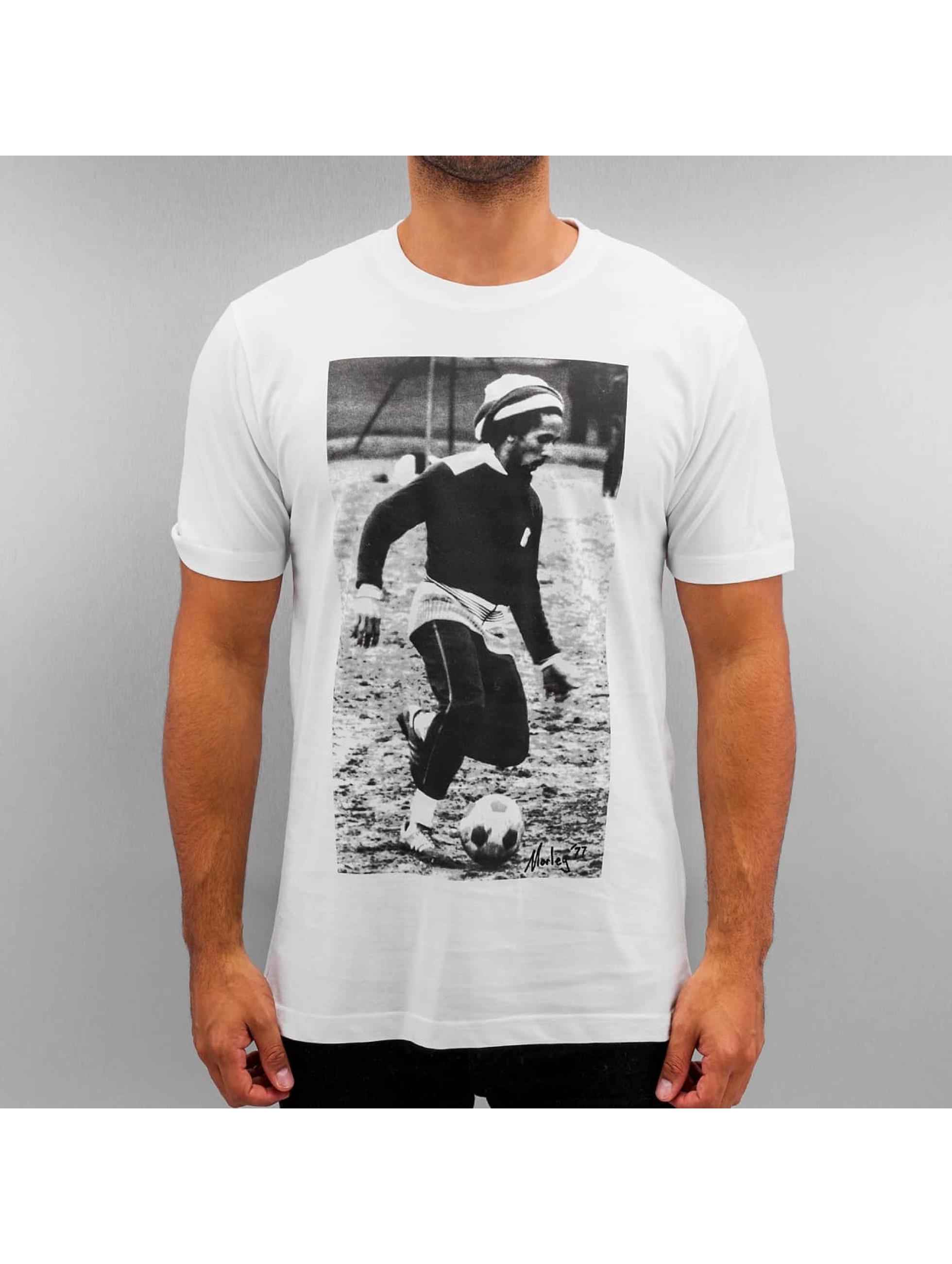 Mister Tee T-Shirt Bob Soccern blanc