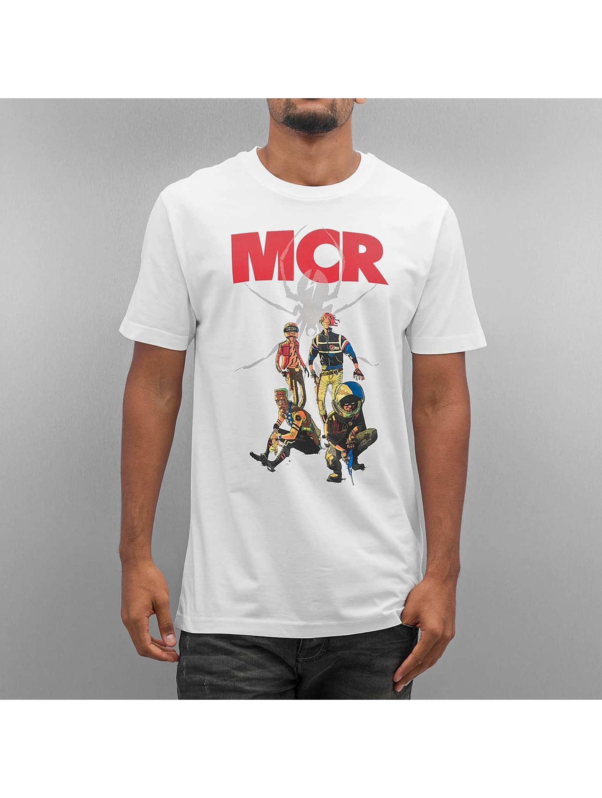 Mister Tee T-Shirt MY Chemical Romance Killjoys Pinup blanc
