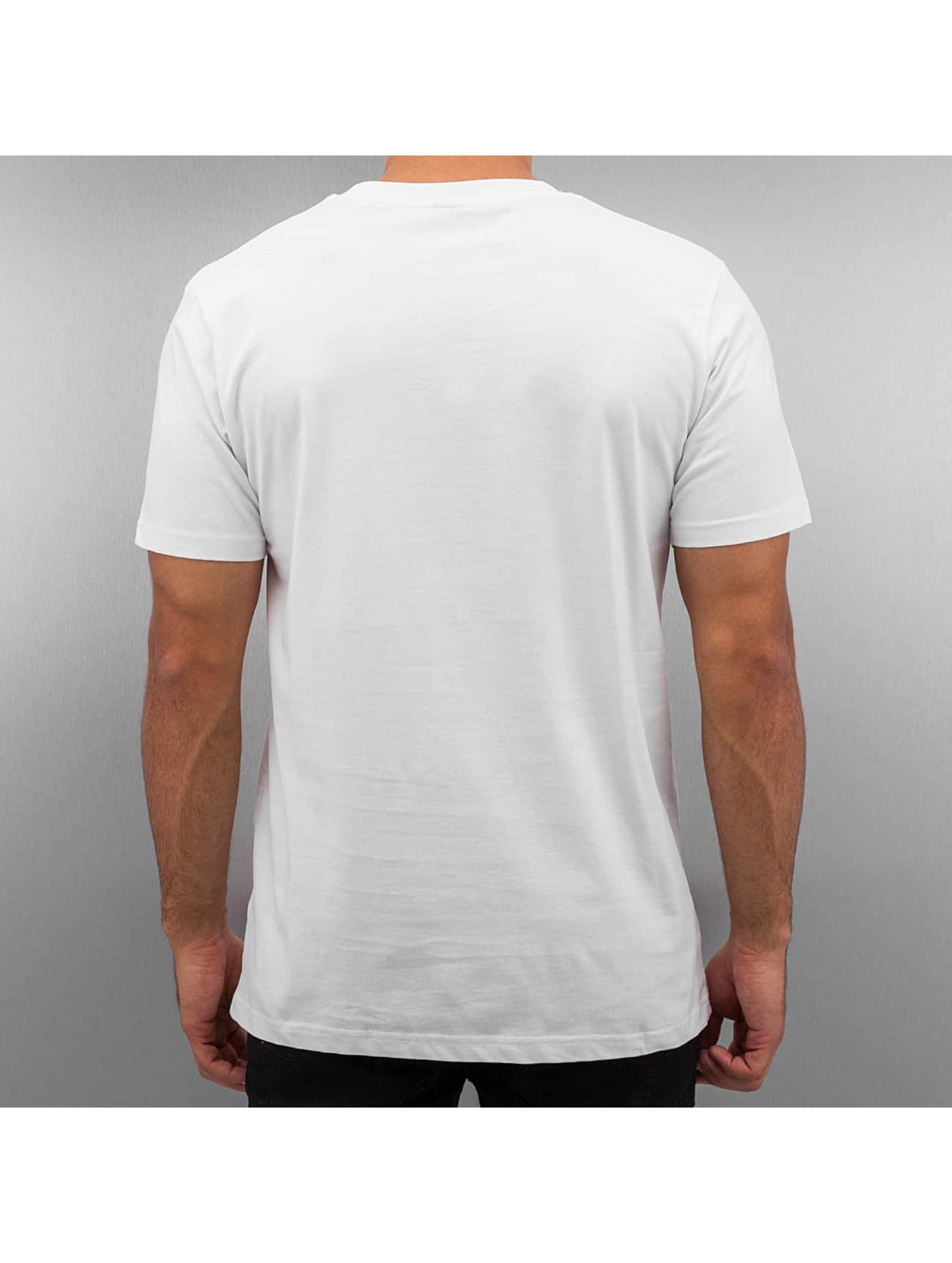 Mister Tee T-Shirt Life Is Pain blanc
