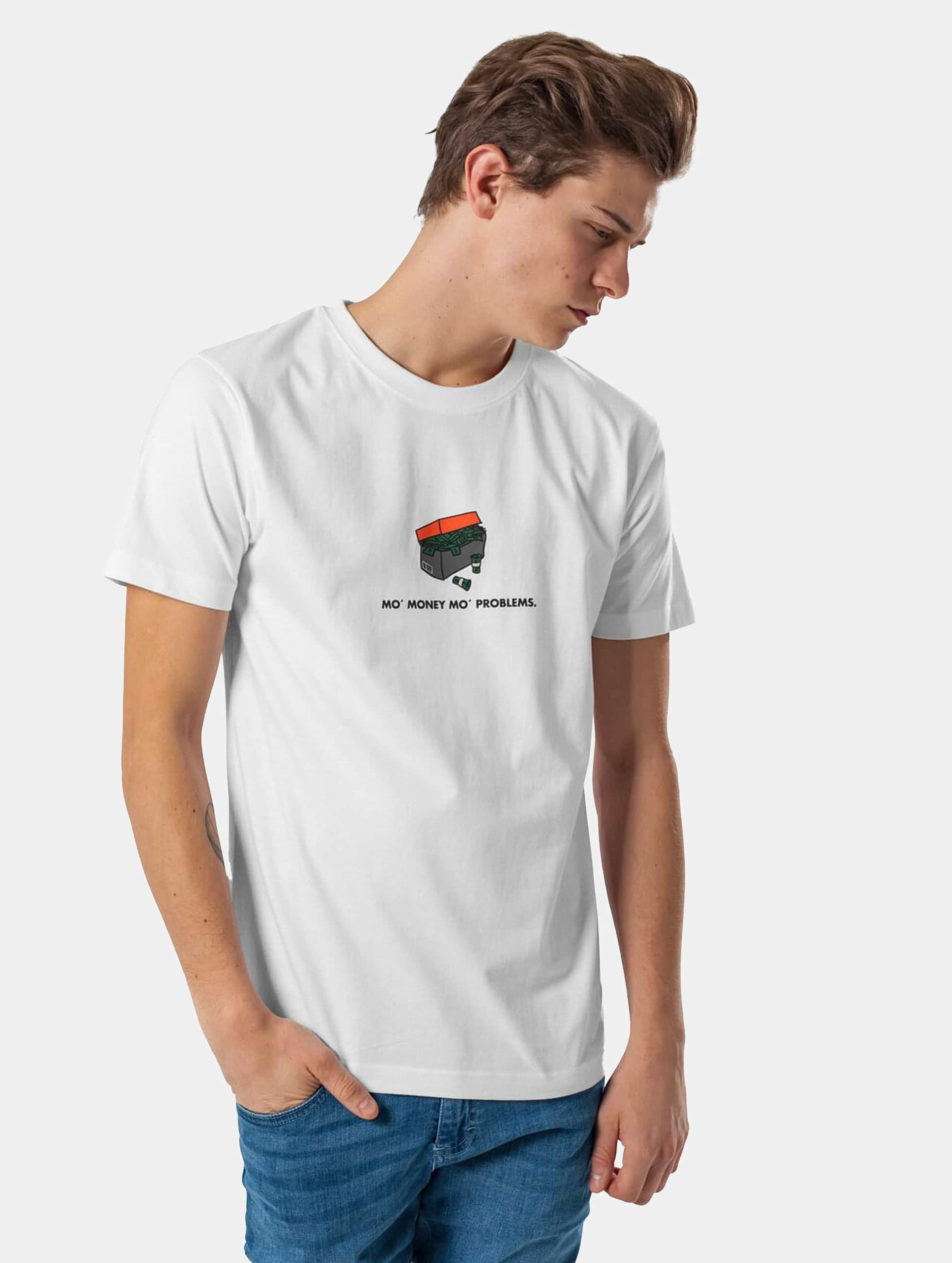Mister Tee T-Shirt Shoebox blanc
